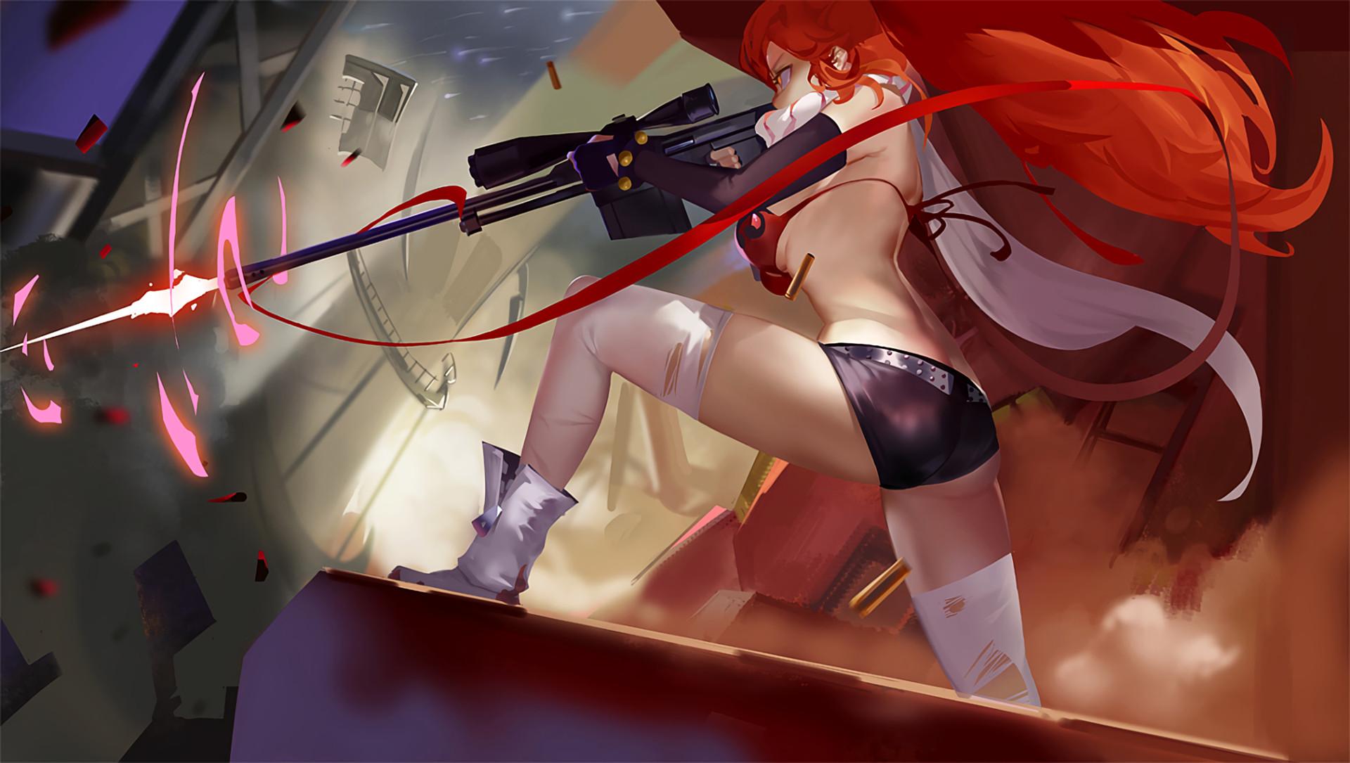 Anime – Tengen Toppa Gurren Lagann Yoko Littner Wallpaper