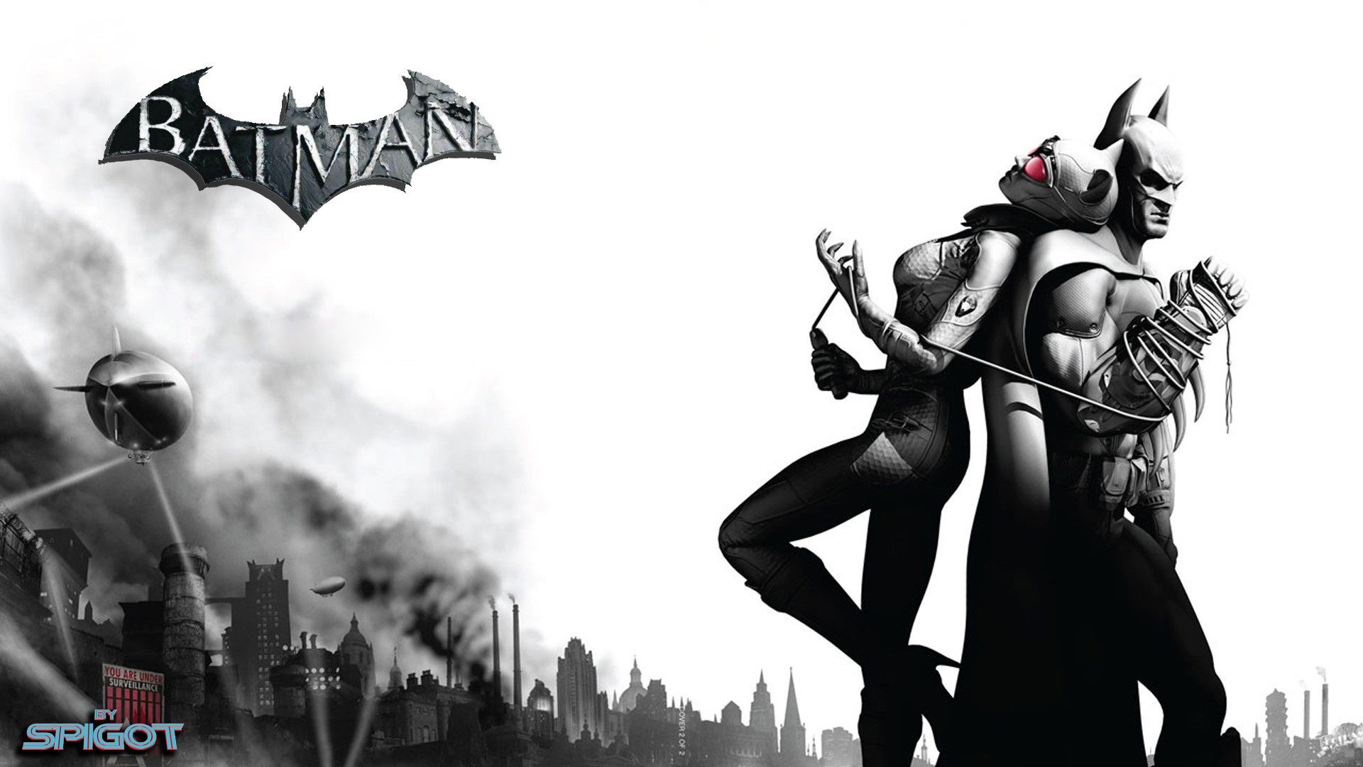 These Batman Arkham City wallpapers are a request from Penfold, so here you  go mate