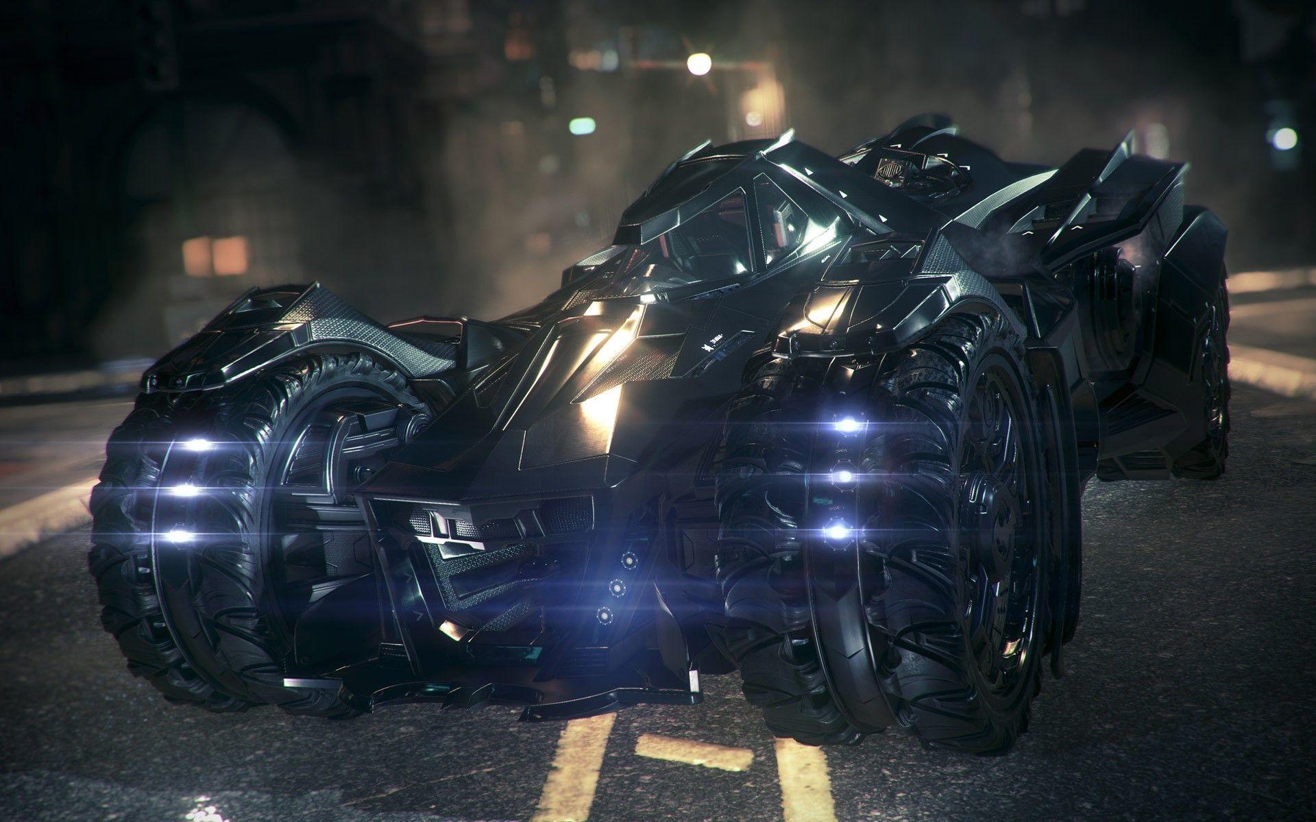 batmobile batman arkham knight