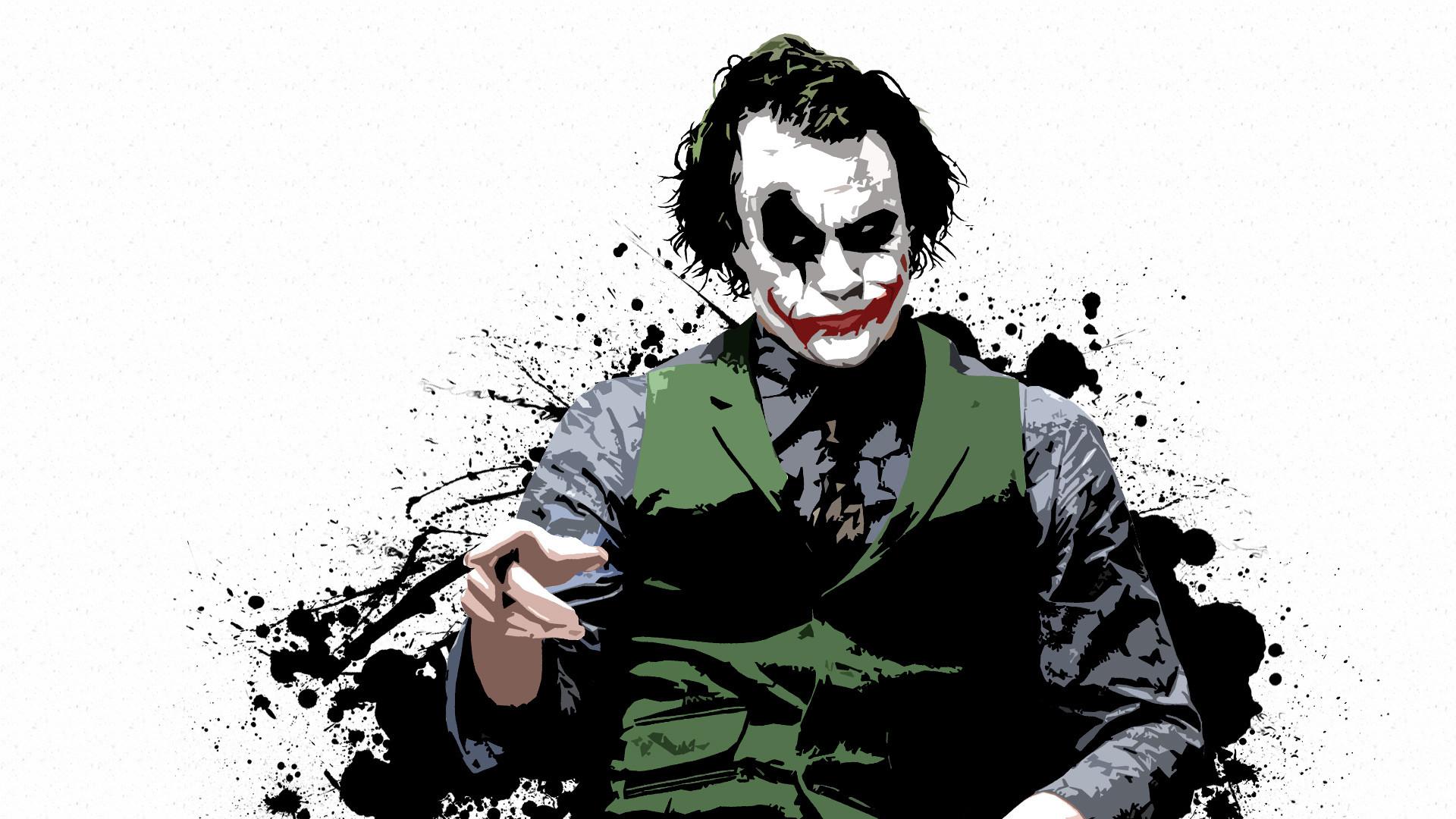 Filme The Dark Knight Joker Papel de Parede
