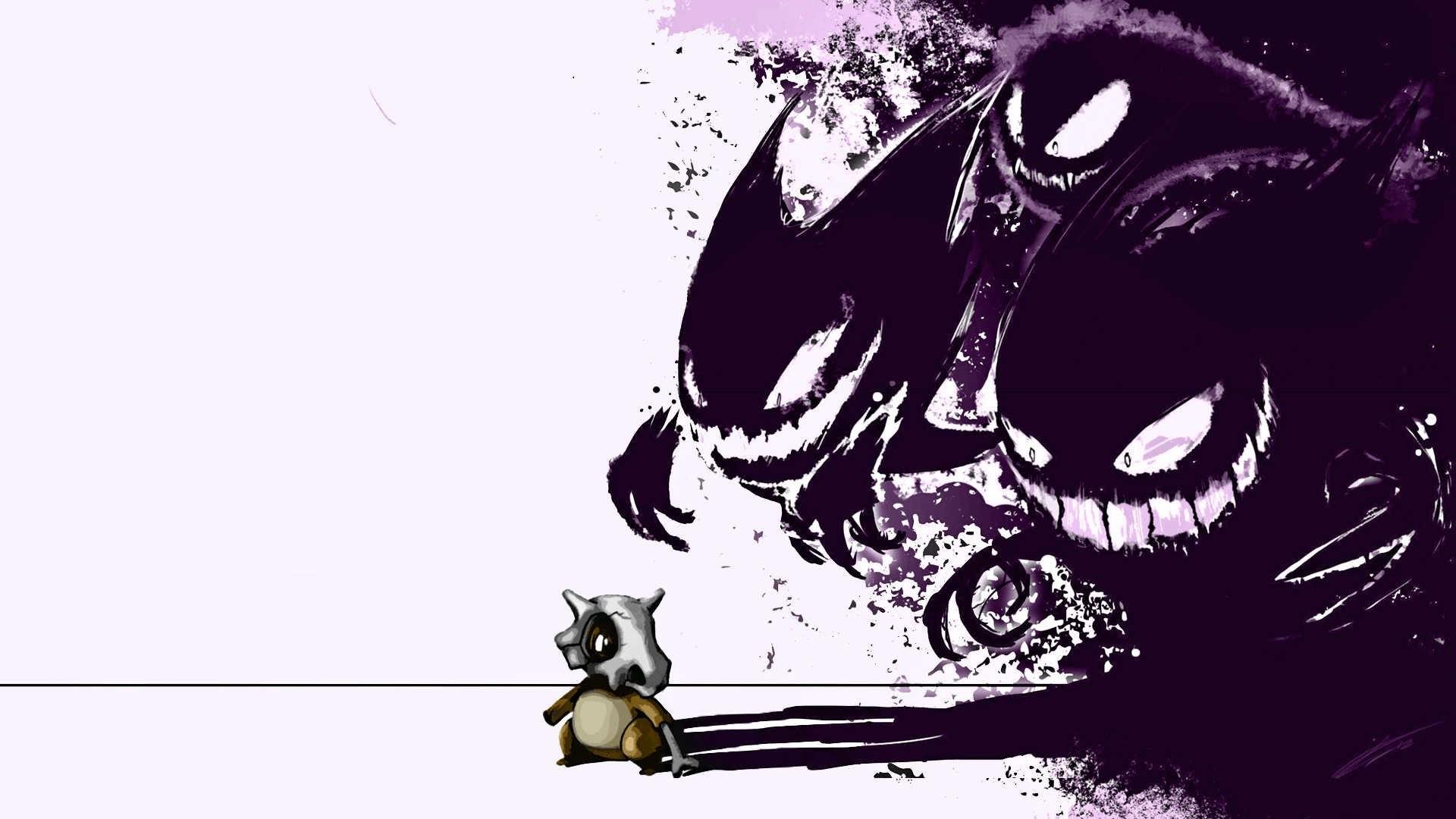 Gastly Gengar Ghost Pokémon Haunter · HD Wallpaper | Background ID:298525