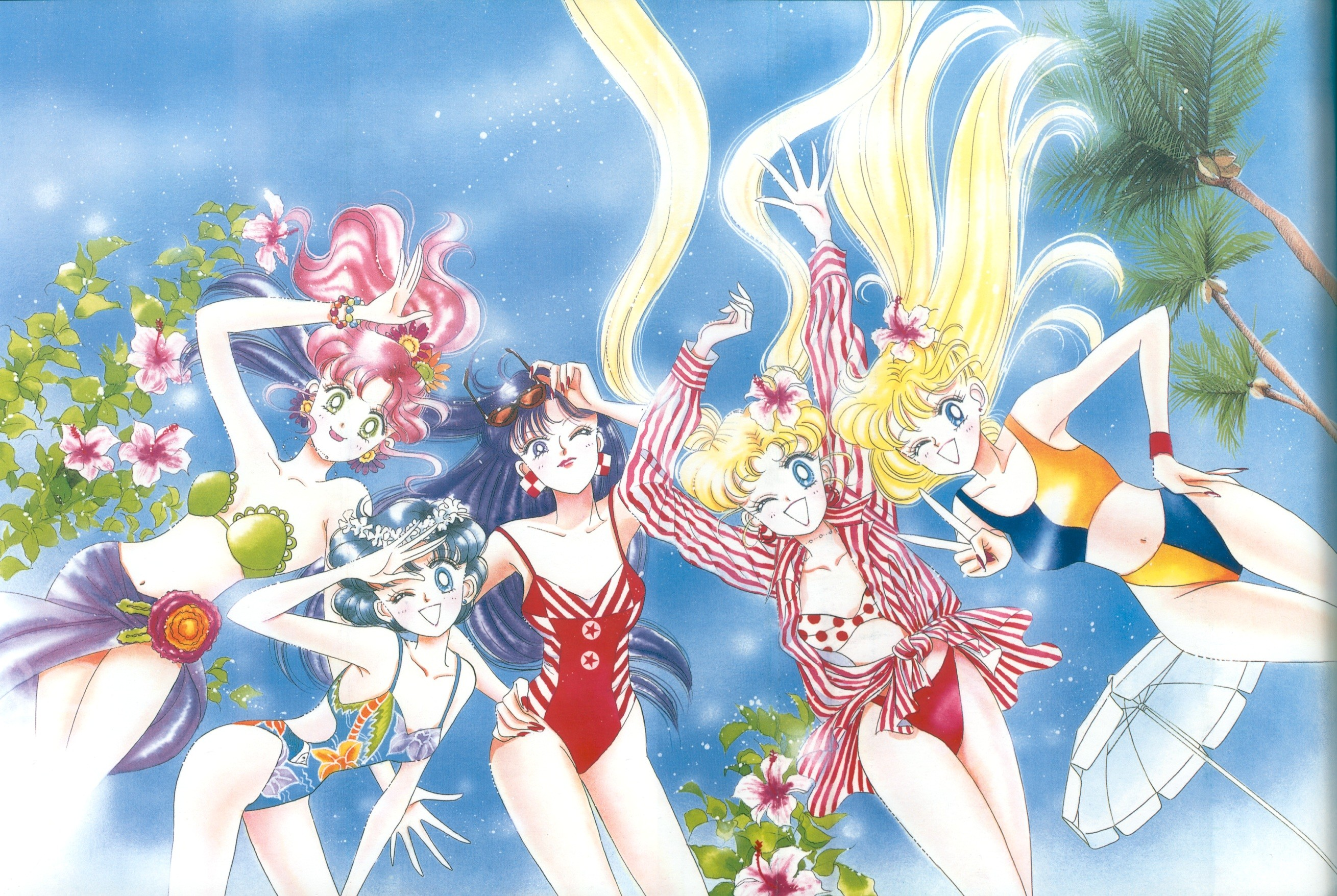"""The Bishoujo Senshi Sailor Moon Gengashuu (""""Pretty Soldier Sailor Moon  Original Picture Collection"""") are artbooks which reprint the color  illustrations …"""