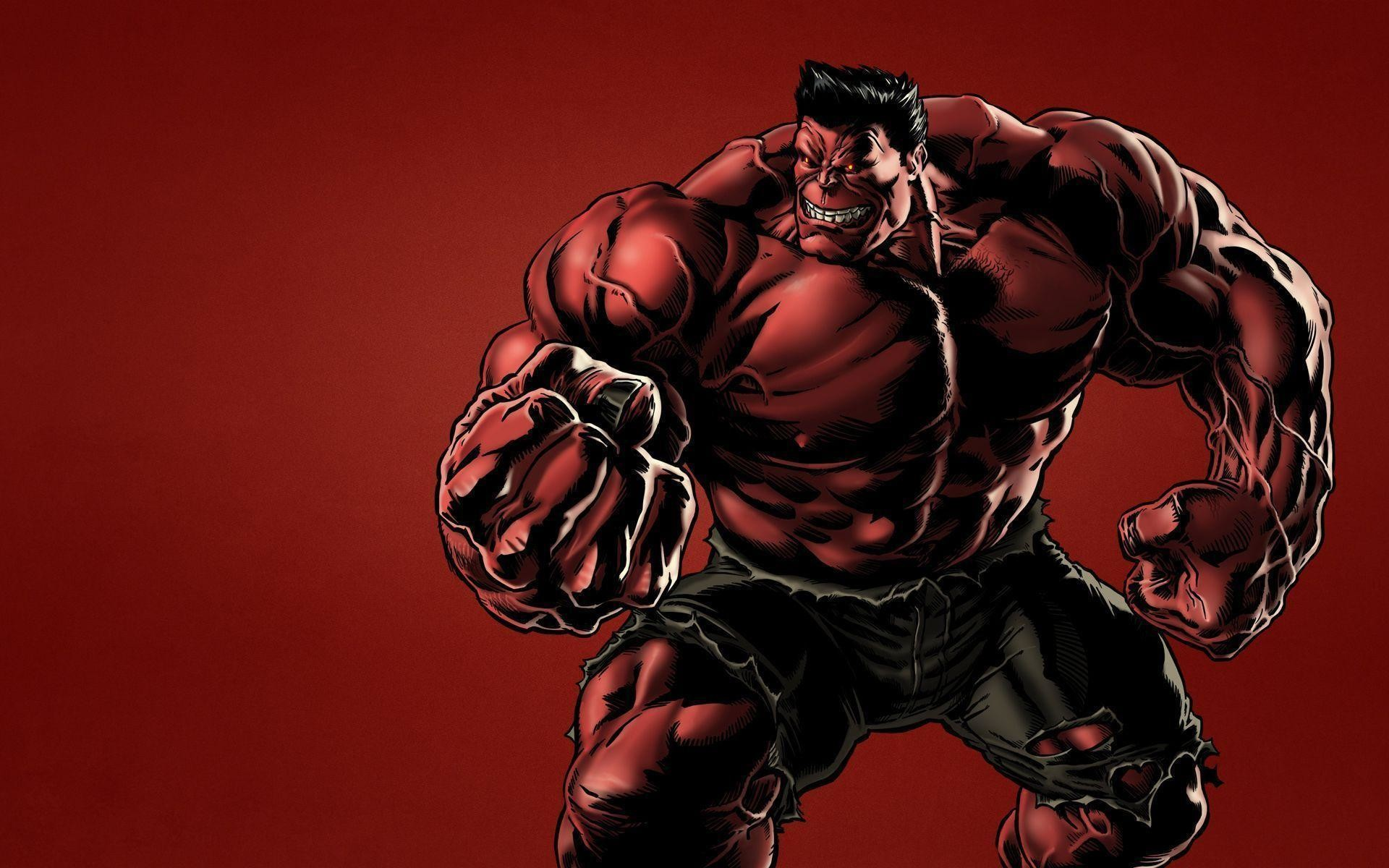 Wallpapers For > Red Hulk Hd Wallpapers 1080p