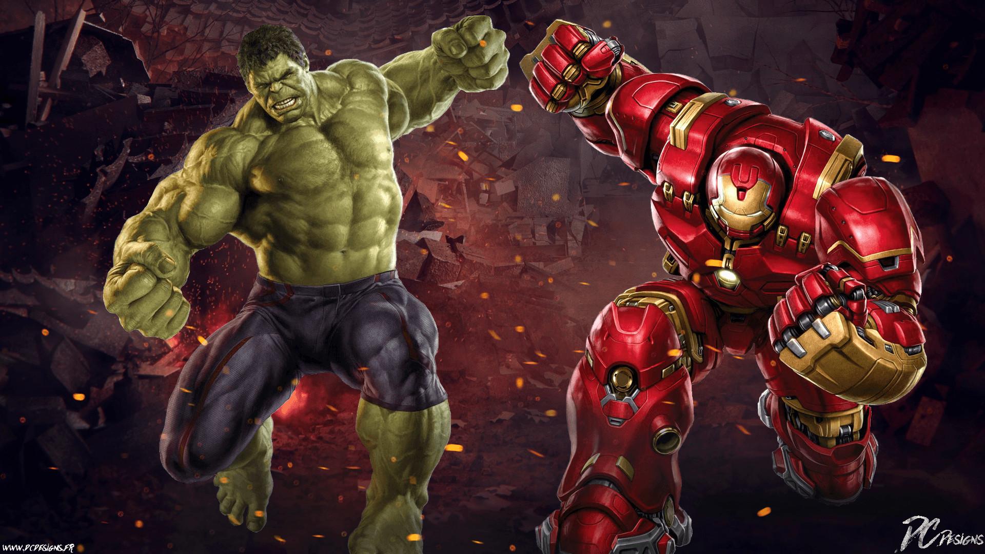 1 Hulk Vs Hulkbuster HD Wallpapers | Backgrounds – Wallpaper Abyss