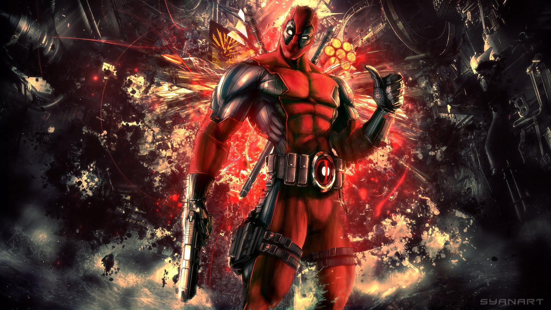 Wallpaper deadpool, wade wilson, mercenary, anti-hero, high .