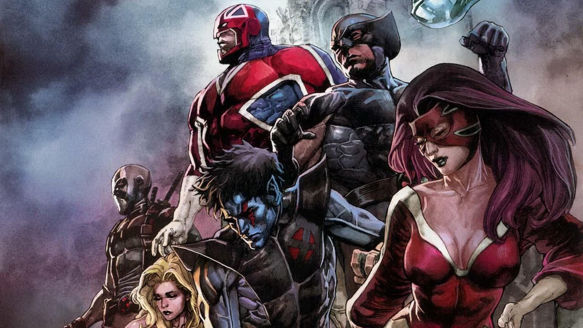 HD wallpaper X-Force Marvel