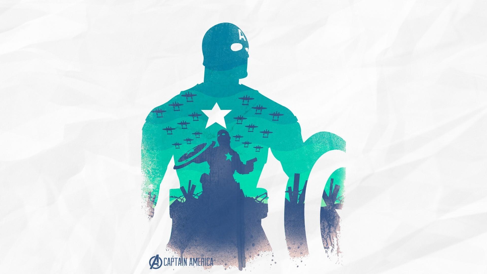 Preview wallpaper the avengers, captain america, art 1920×1080