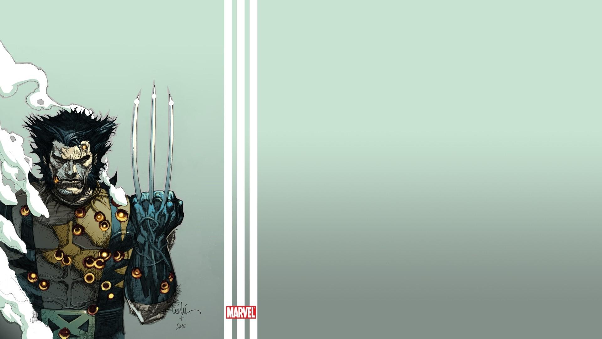 Preview wallpaper wolverine, the incredible hulk, marvel comics, art  1920×1080