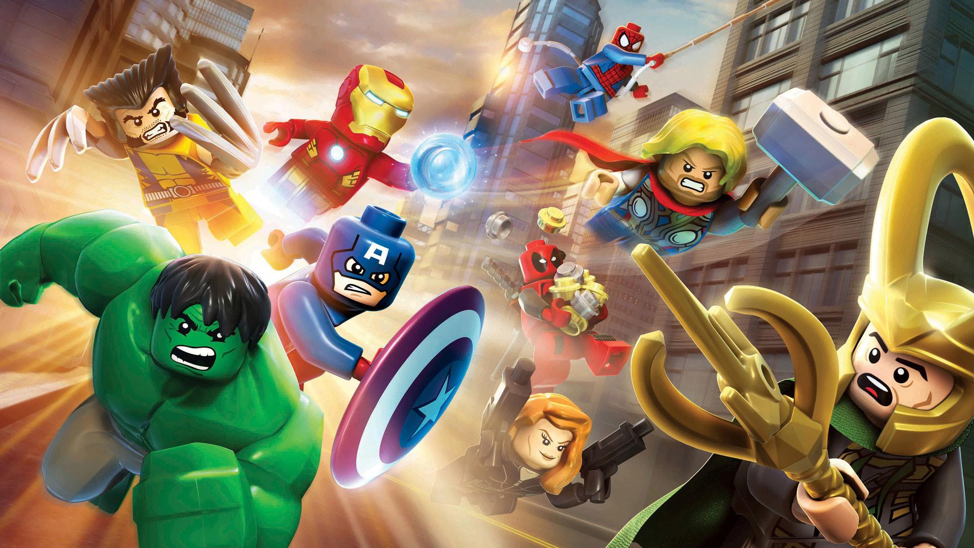 Lego Marvel's Avengers 4K Wallpaper | Lego Marvel's Avengers 1080p …
