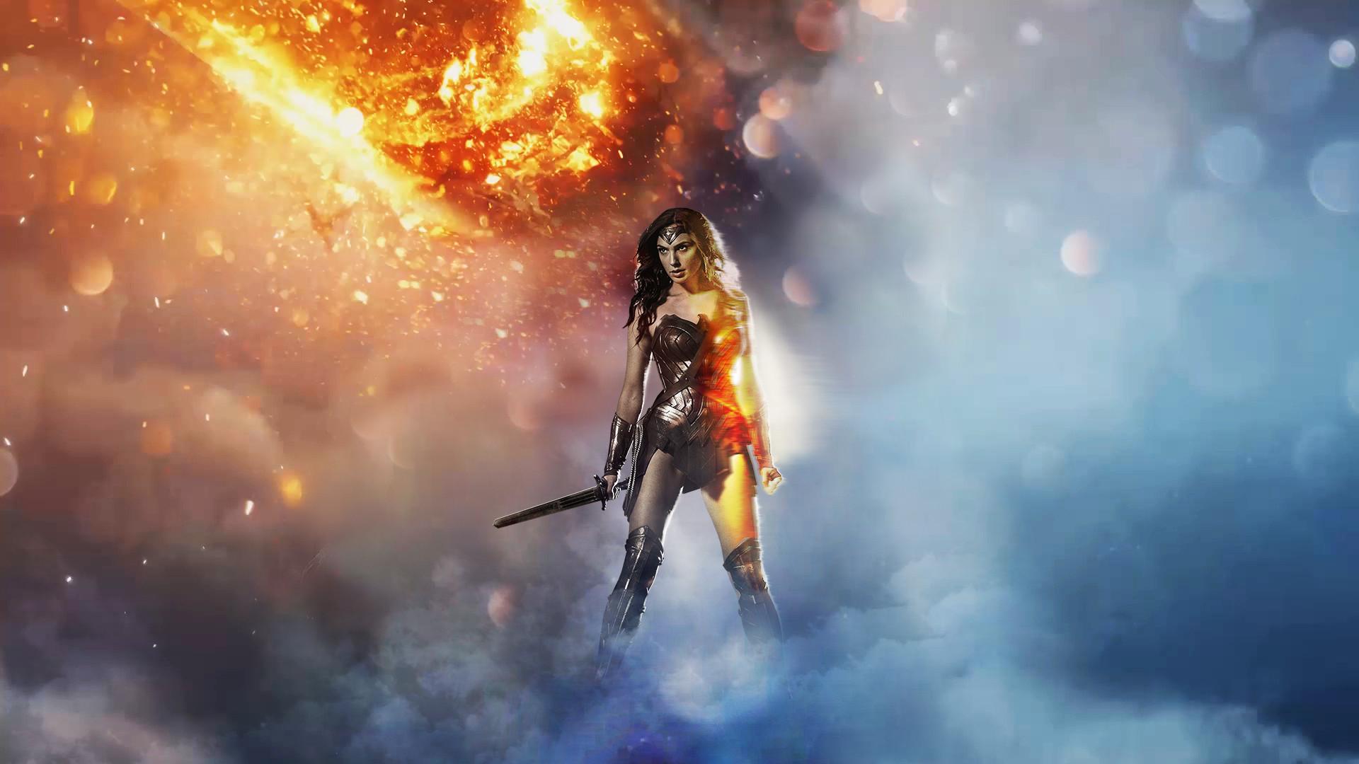 BF1 Wonder Woman Wallpaper