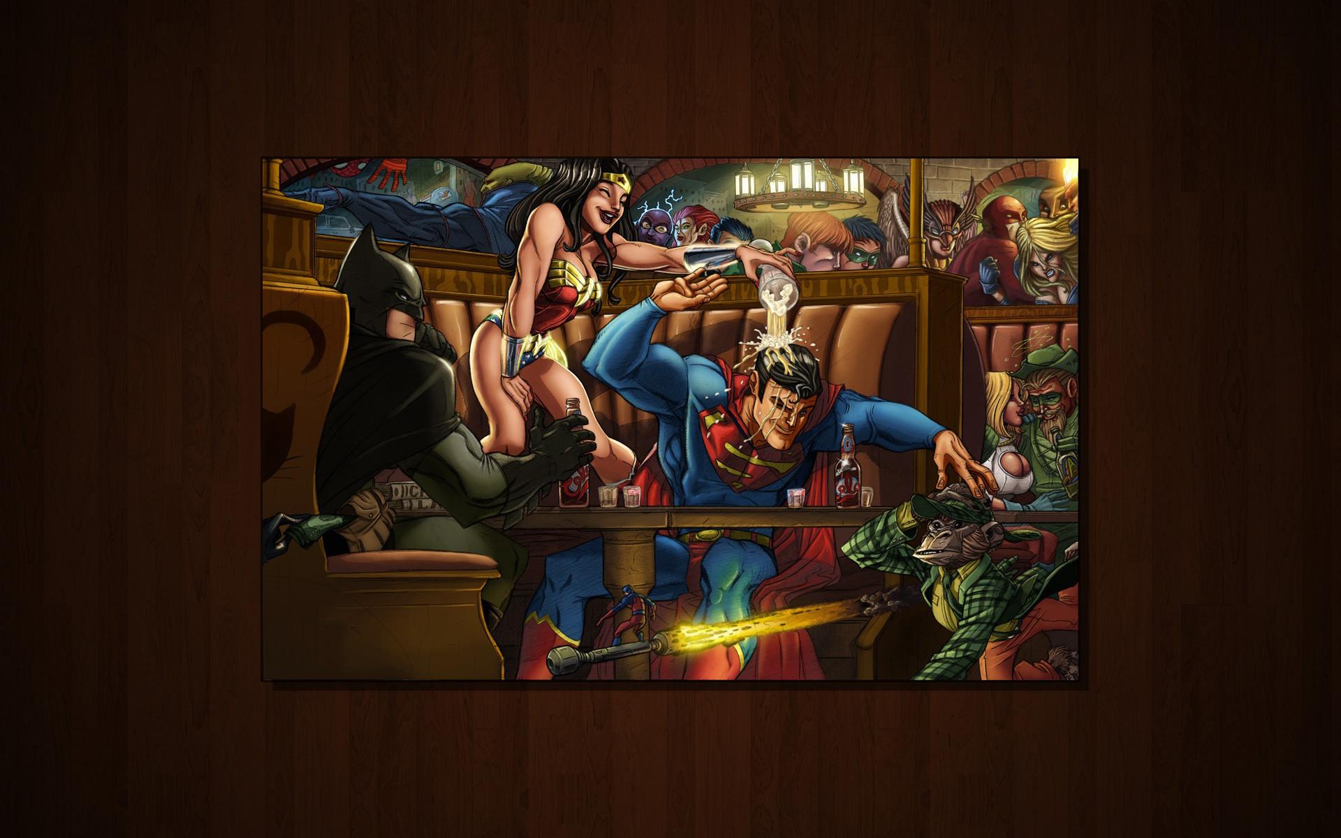 Superman & Wonder Woman: Freeloading | superman and wonder woman .