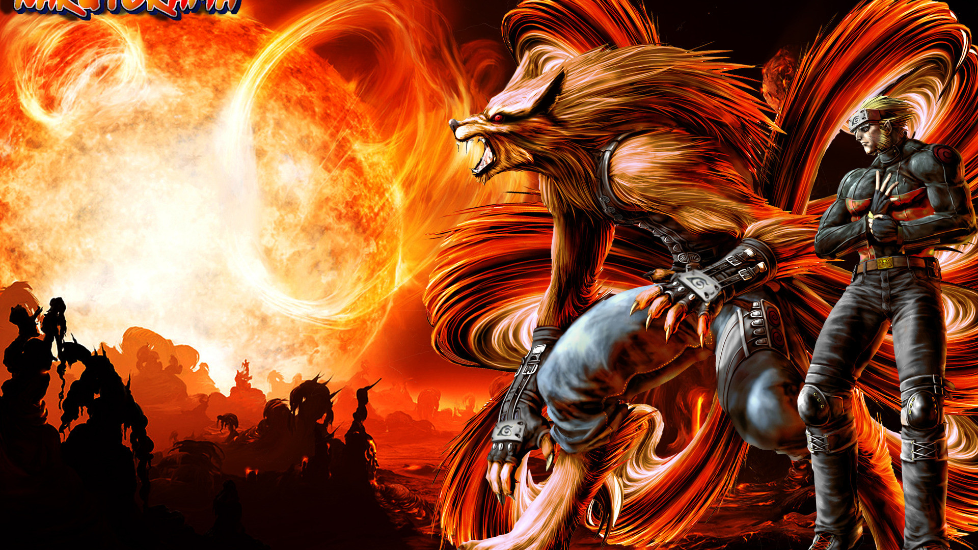 Nine-Tails and Naruto, HD Wallpaper and FREE Stock Photo