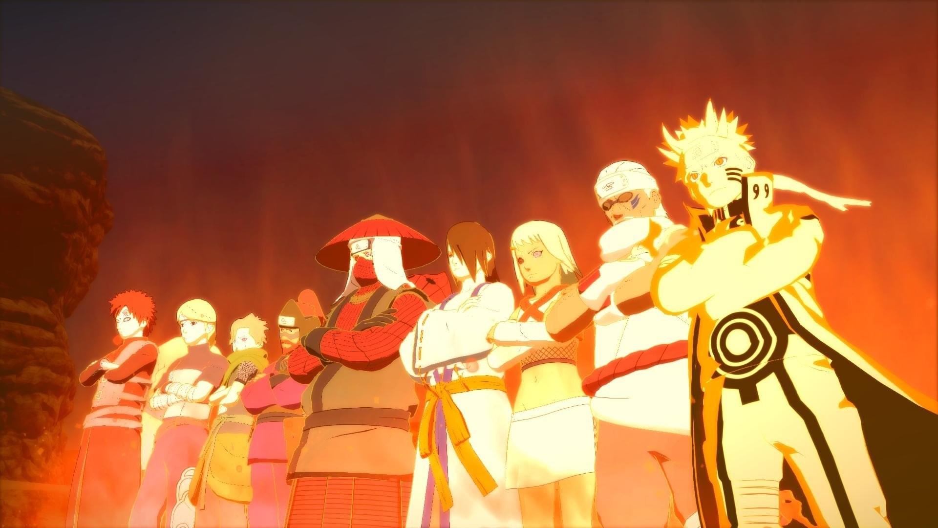 Video Game – Naruto Shippuden: Ultimate Ninja Storm 4 JinchÅ«riki (Naruto)  Naruto Uzumaki