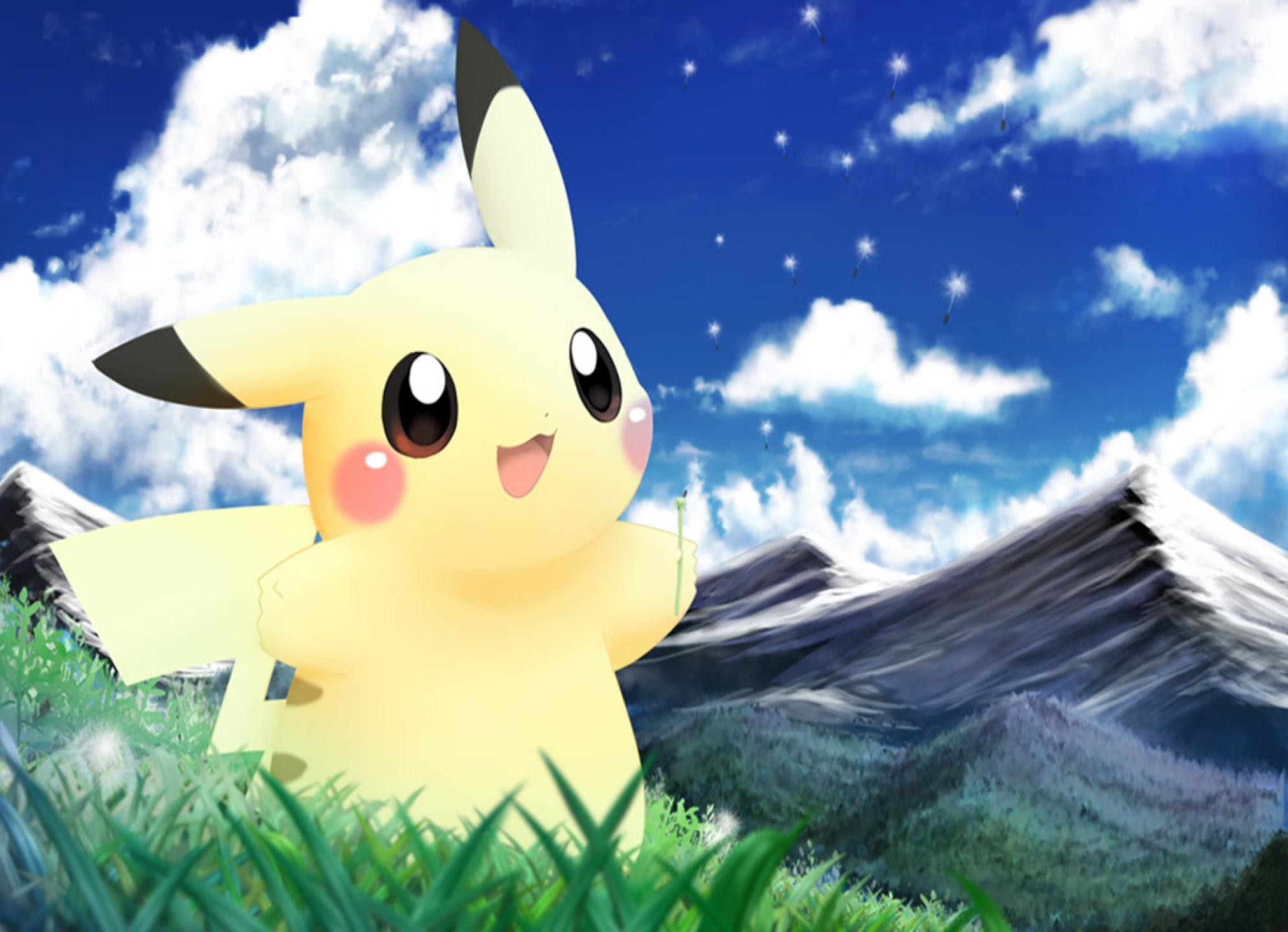 HD Wallpaper and background photos of Pikachu Wallpaper for fans of Pikachu  images.