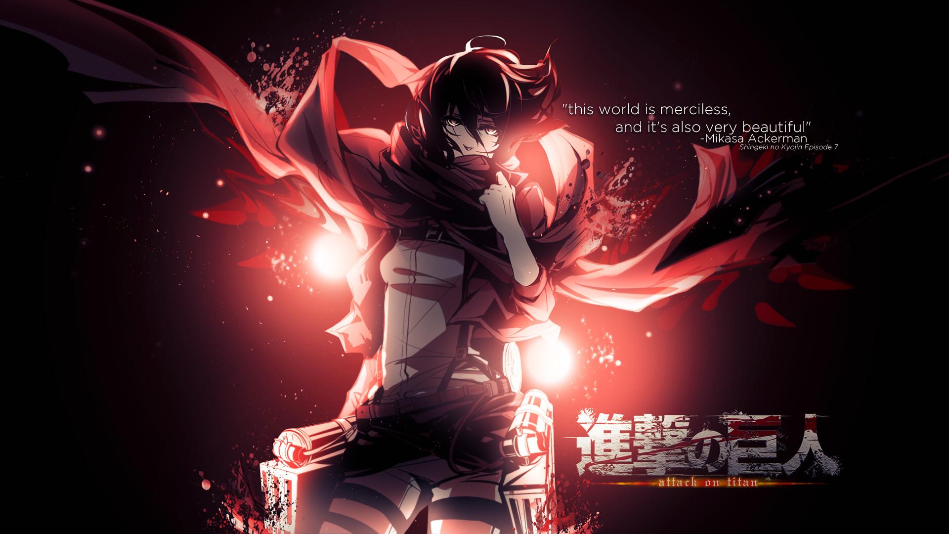 Shingeki no Kyojin (Attack on titan) images Shingeki no Kyojin [Mikasa .