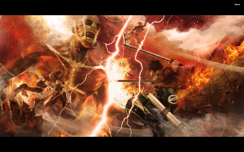 Attack On Titan Wallpaper .