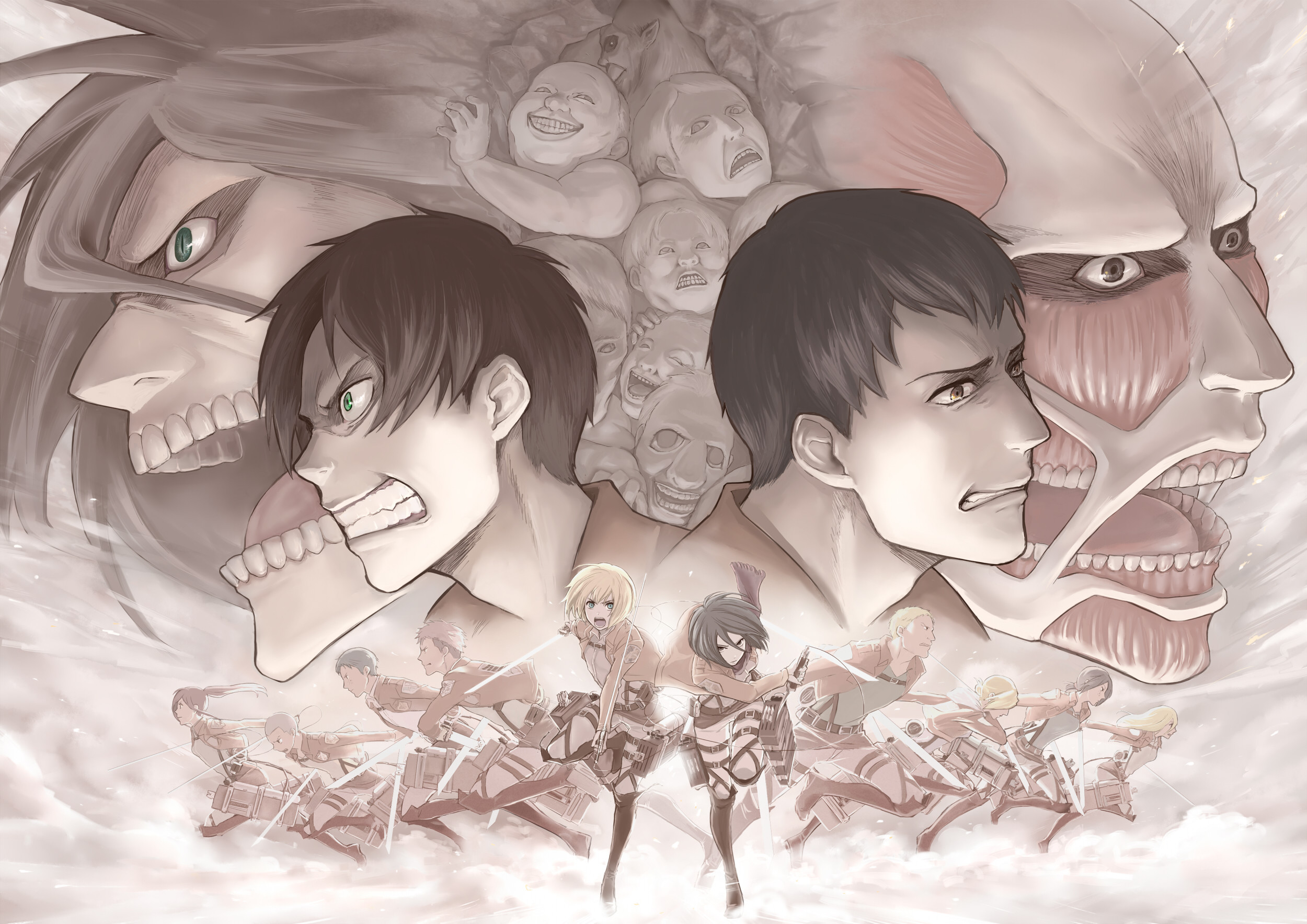HD Wallpaper   Background ID:451609. Anime Attack On Titan