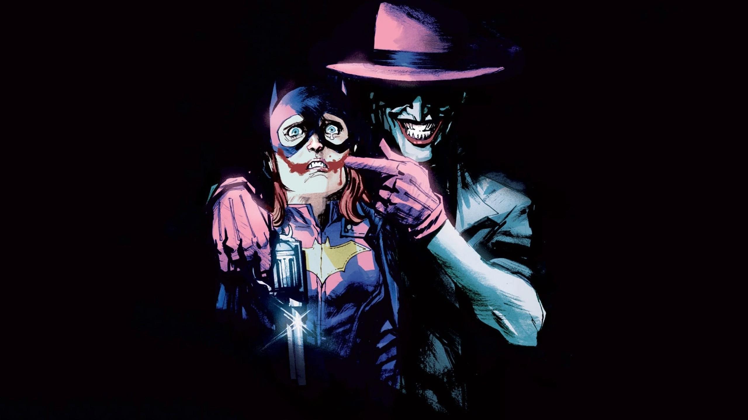 DC Comics Batgirls Joker Wallpaper.