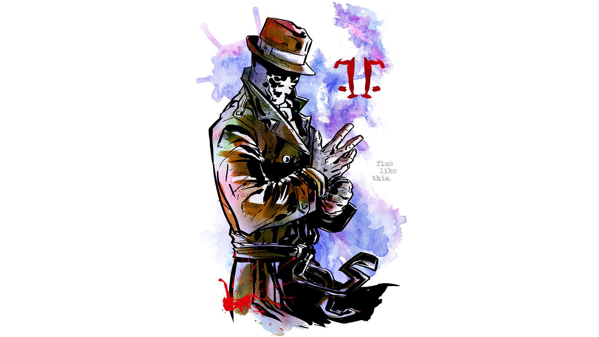 Dc-comics Fan-art Movies Rorschach Watchmen …
