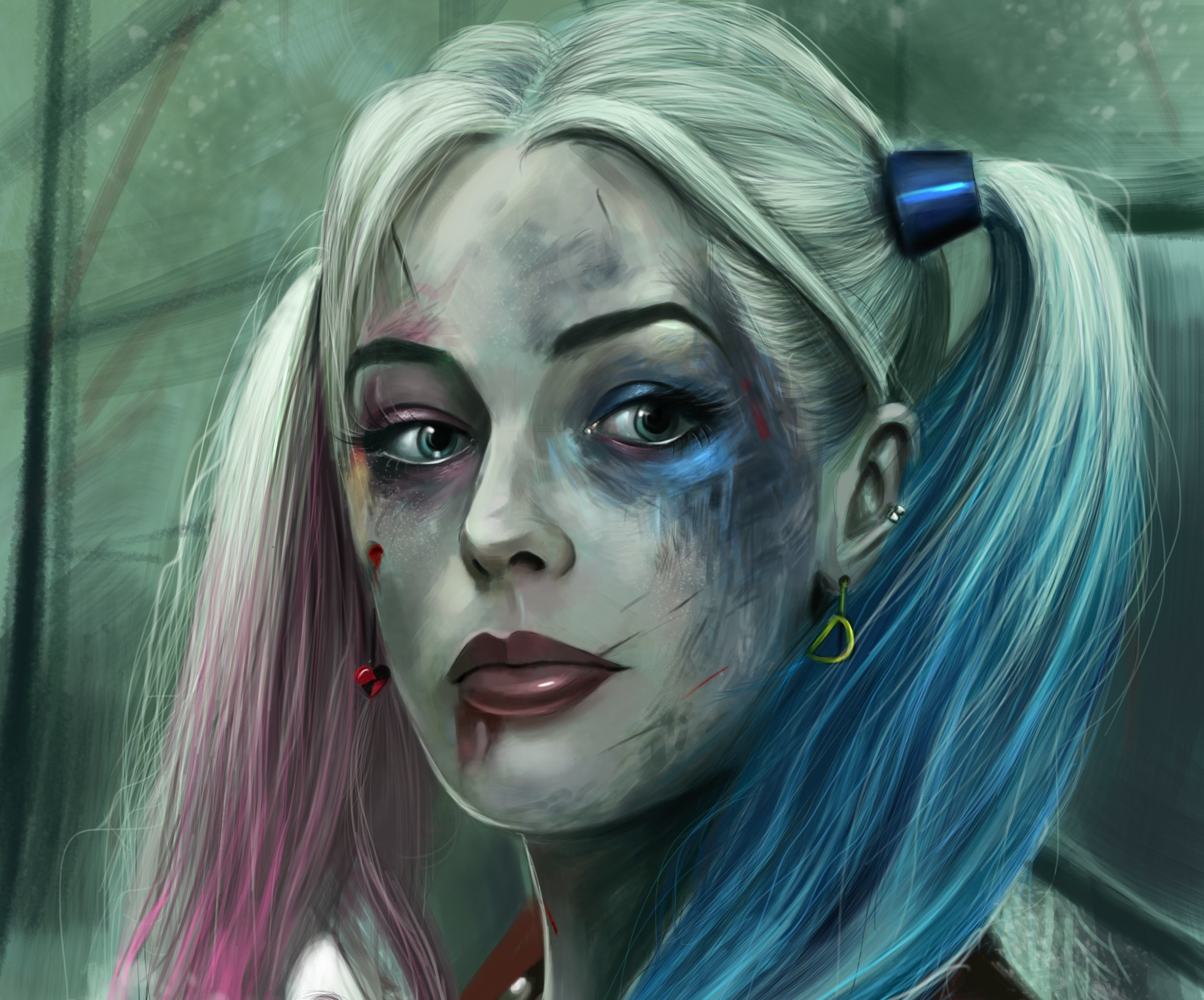 Harley Quinn In Suicide Squad 2048×1152 Resolution