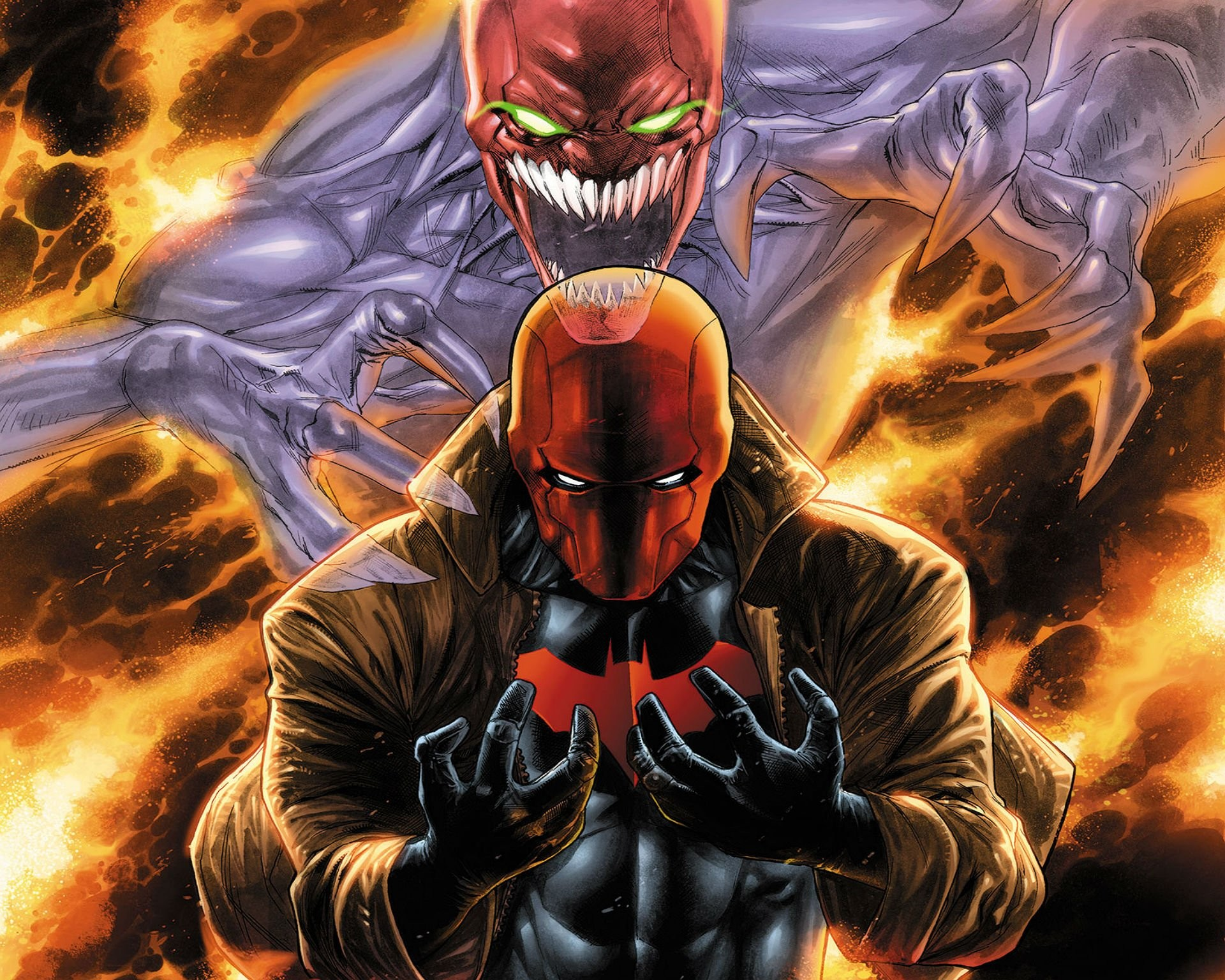 RED HOOD OUTLAWS dc-comics d-c comics superhero heroes hero 1rho .