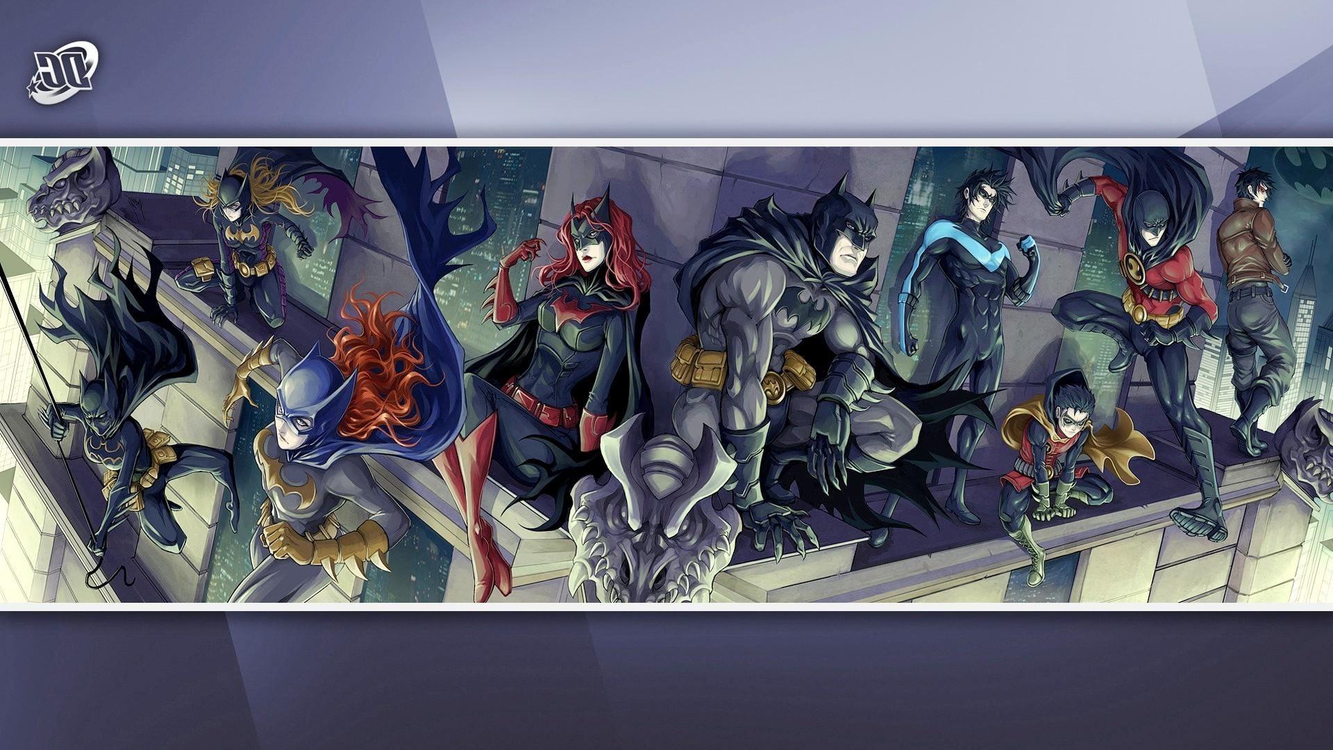 DC Comics, Batman, Nightwing, Batgirl, Batwoman, Red Robin, Red Hood, Robin  III Wallpapers HD / Desktop and Mobile Backgrounds