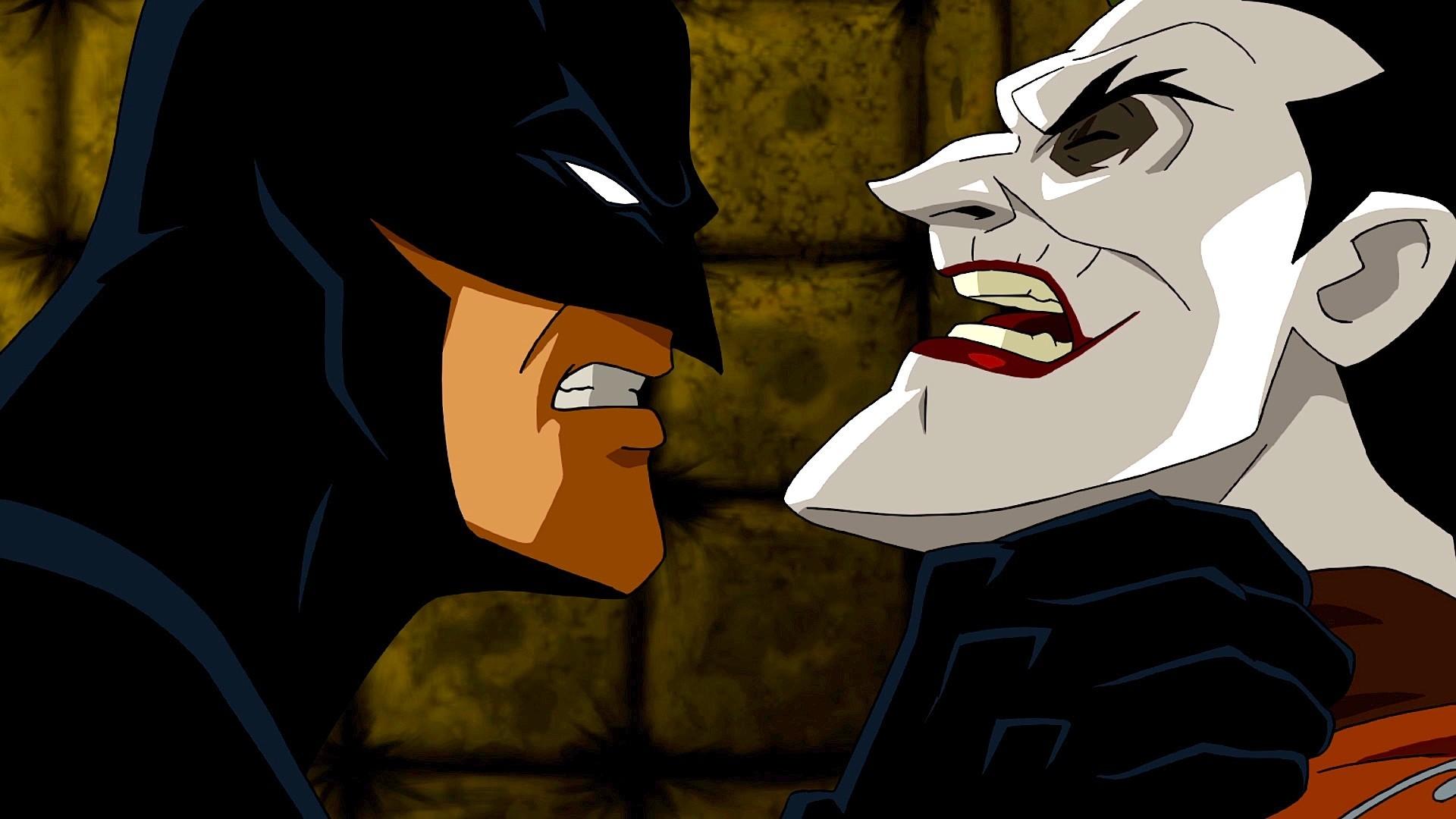 Movie – Batman: Under the Red Hood Batman Joker Wallpaper