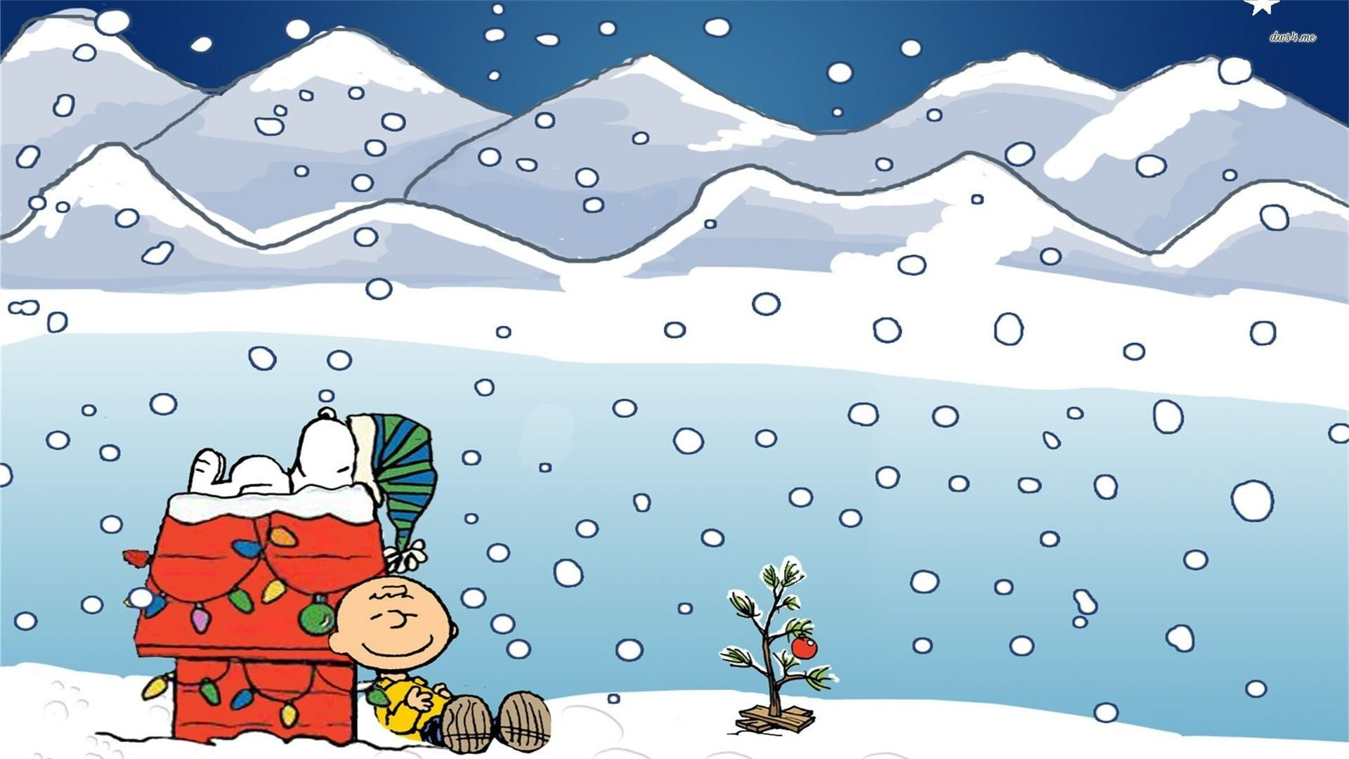 Charlie Brown and Snoopy wallpaper – Cartoon wallpapers – #12189