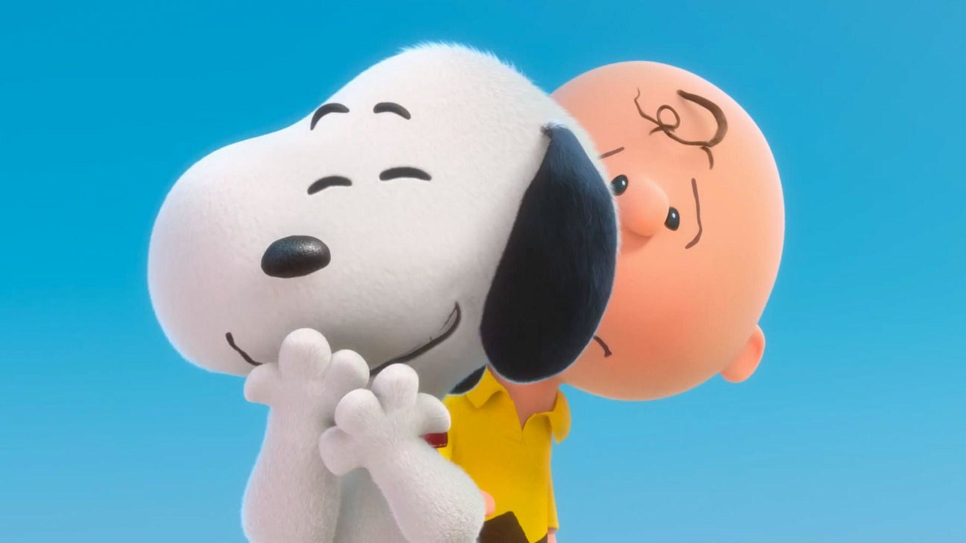 Snoopy-and-Charlie-Wallpaper-3D