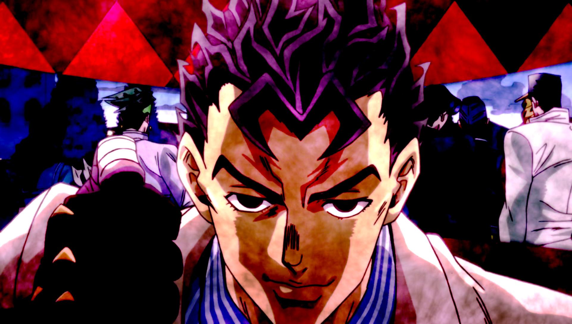 Anime – Jojo's Bizarre Adventure Josuke Higashikata Yukako Yamagishi  Yoshikage Kira Kosaku Kawajiri Jotaro Kujo Joseph