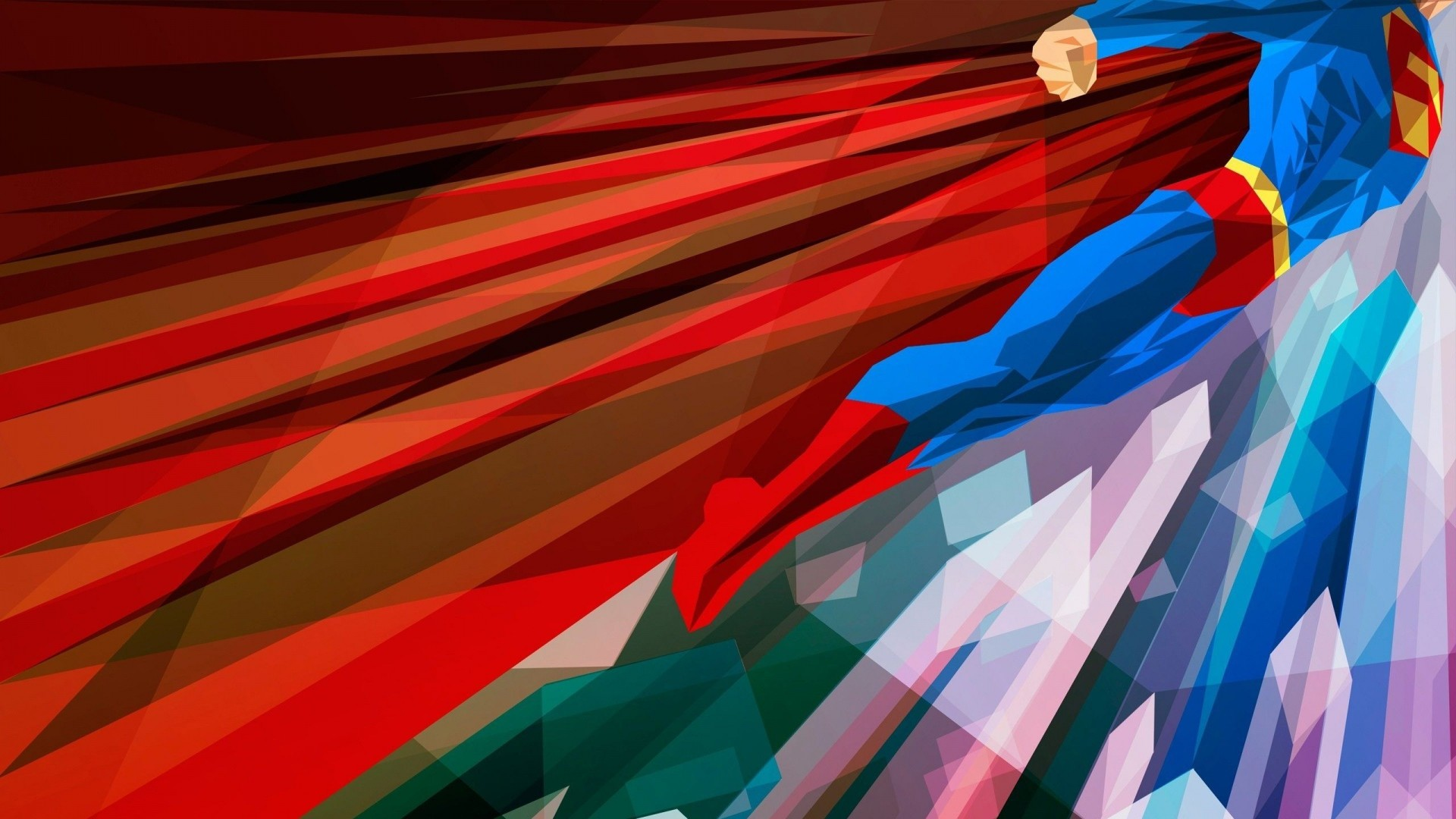 Preview wallpaper superhero, superman, bright 1920×1080
