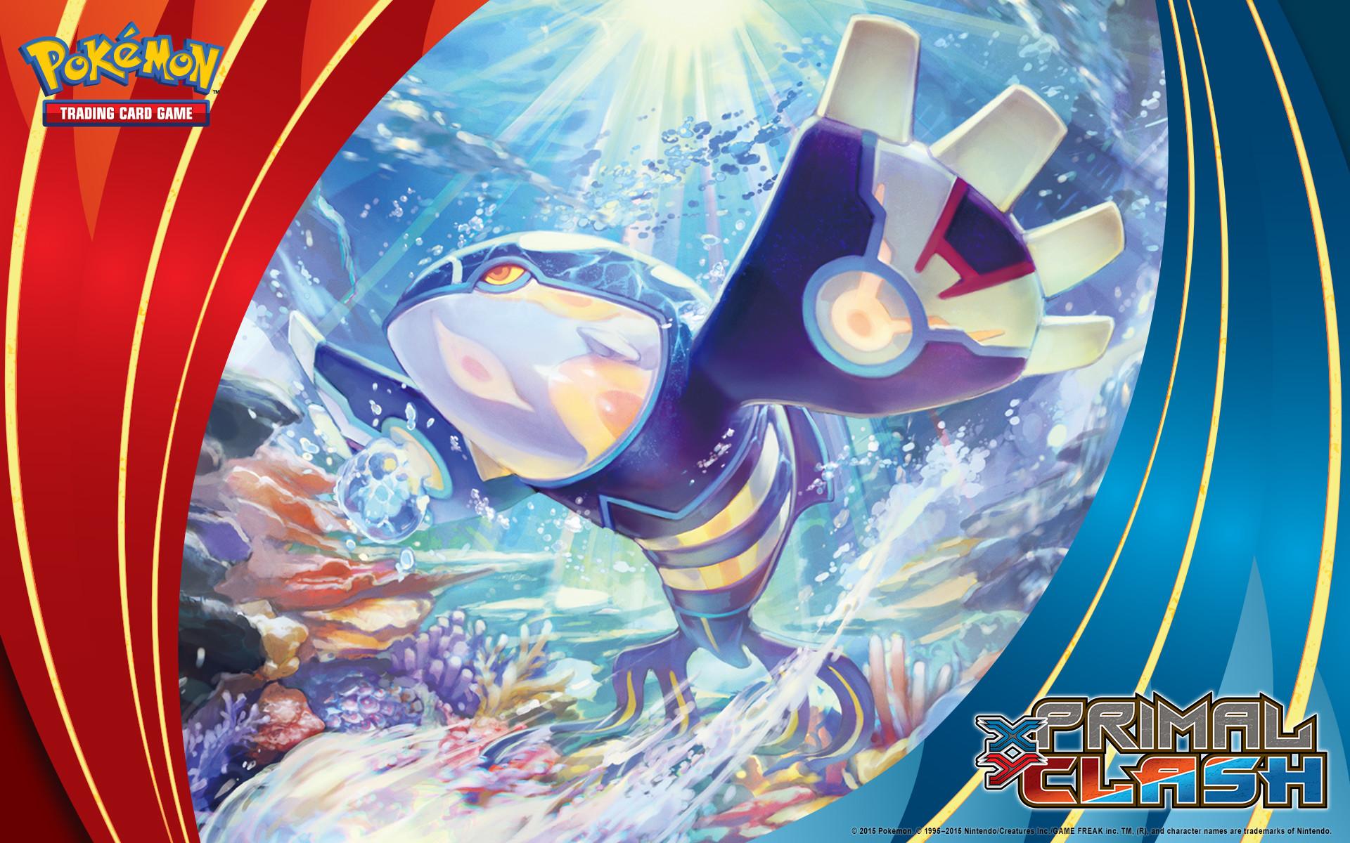 Pokémon TCG: <em>XY—Primal Clash</em> Primal Kyogre. Wallpaper