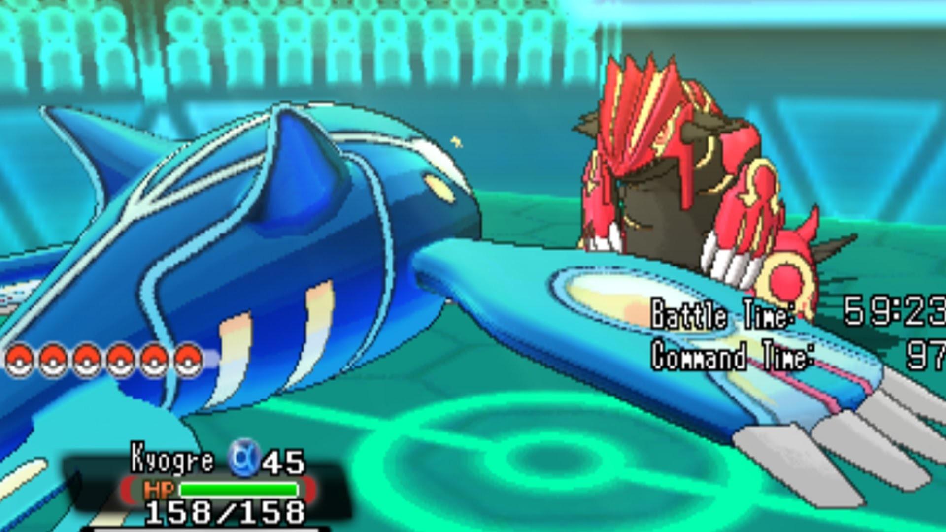 Pokemon Omega Ruby and Alpha Sapphire – Primal Kyogre VS Primal Groudon! –  YouTube