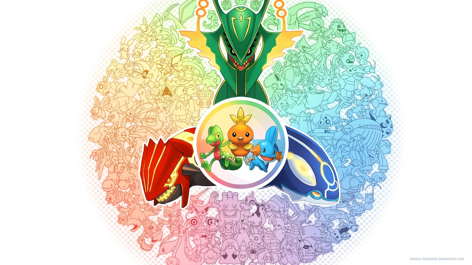 940810 Pokemon Kyogre Groudon Rayquaza
