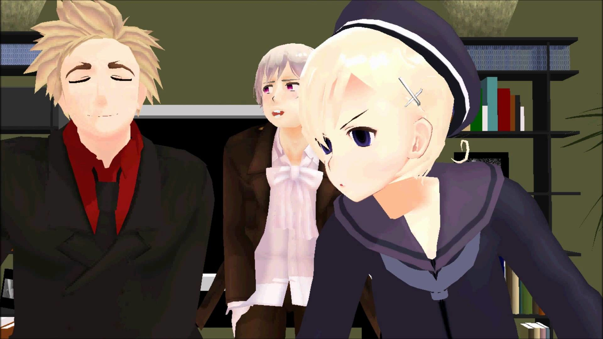 [MMD] Meanwhile In The Nordic Countries….[APH]