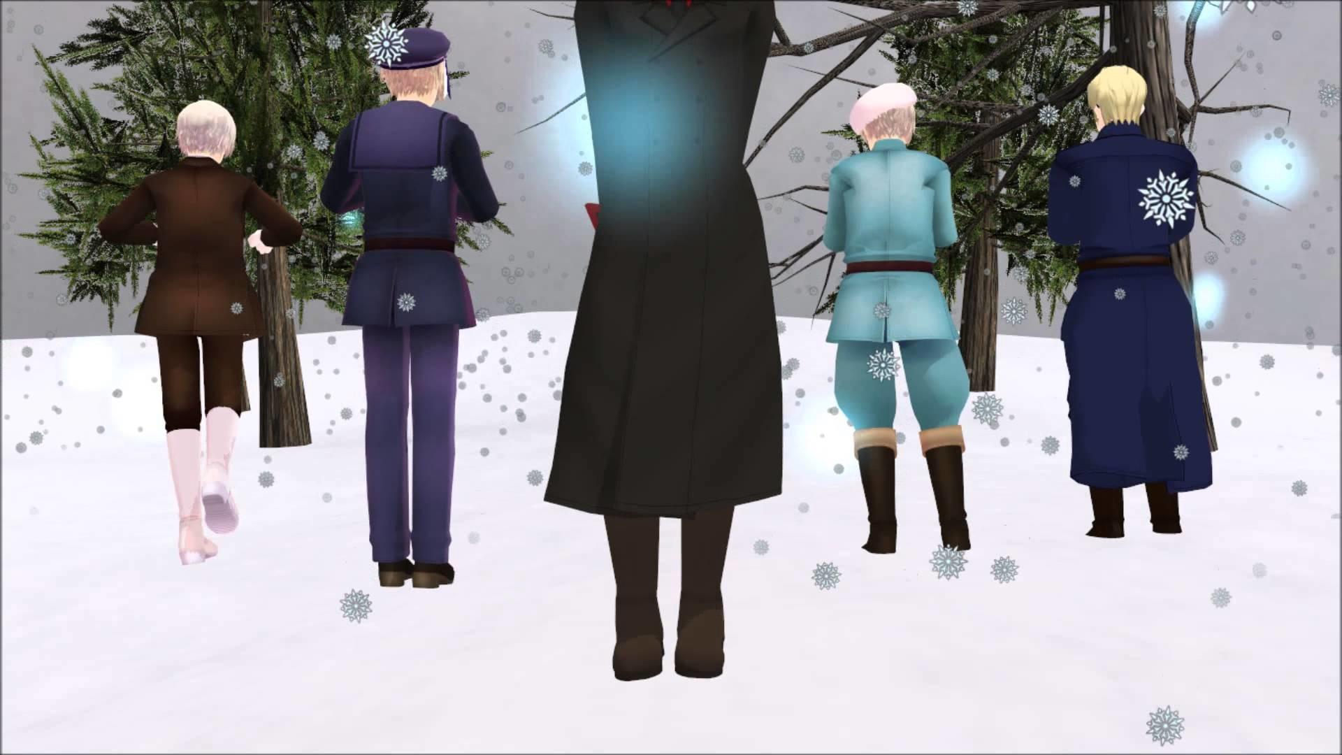 【MMD ヘタリア】 FAKE DOLL【Nordic Five Hetalia】