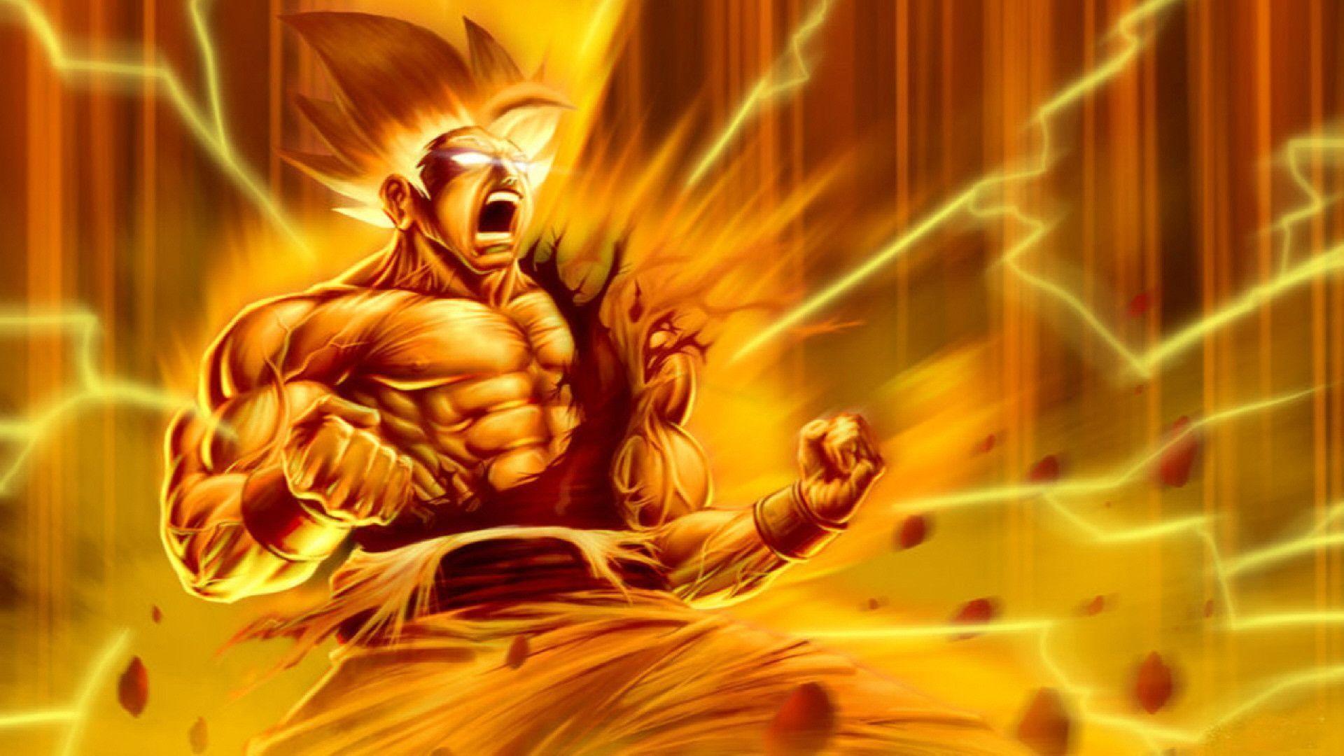 Dragon Ball Z Goku 3D Wallpaper Hd
