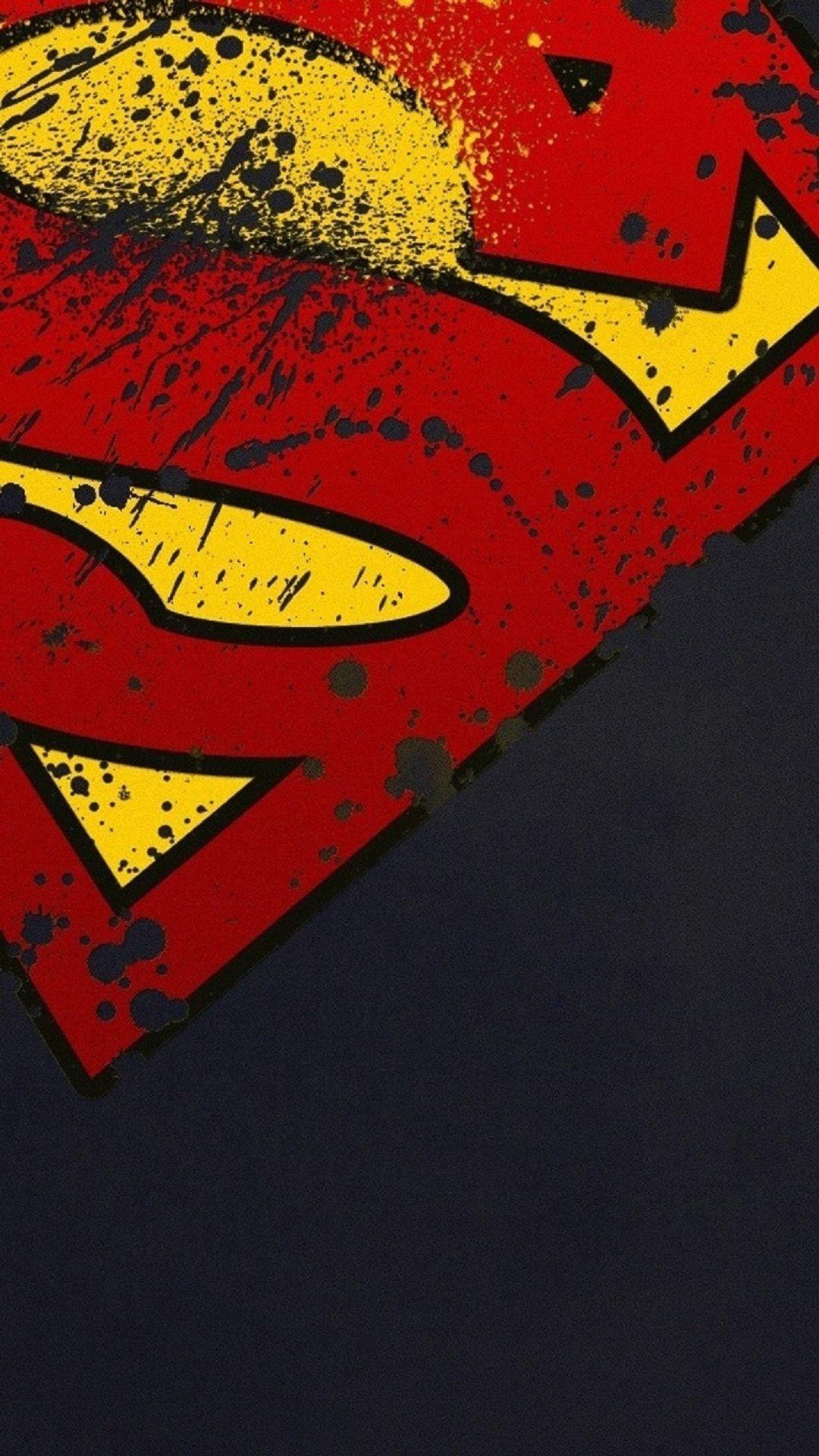 Superman Logo Minimal iPhone 6 Plus HD Wallpaper …