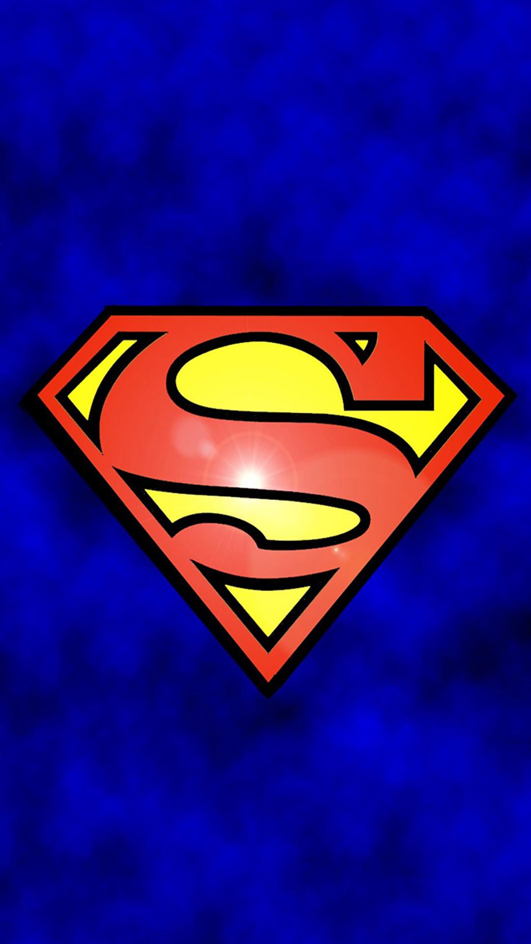 Funny Superman Logo iPhone 6 Wallpaper Download | iPhone Wallpapers .