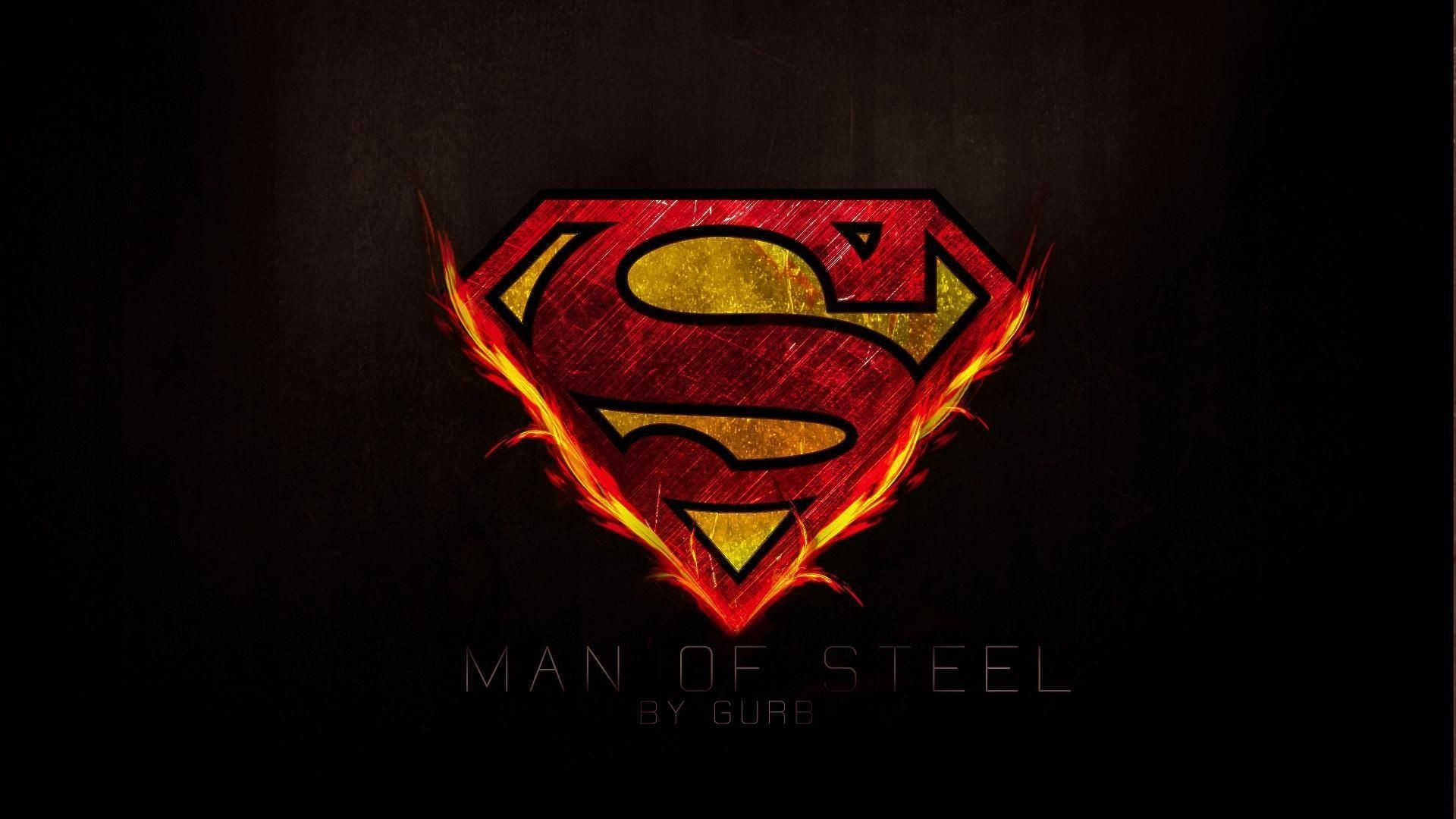 Superman Logo Wallpaper 4360 px ~ WallpaperFort.com
