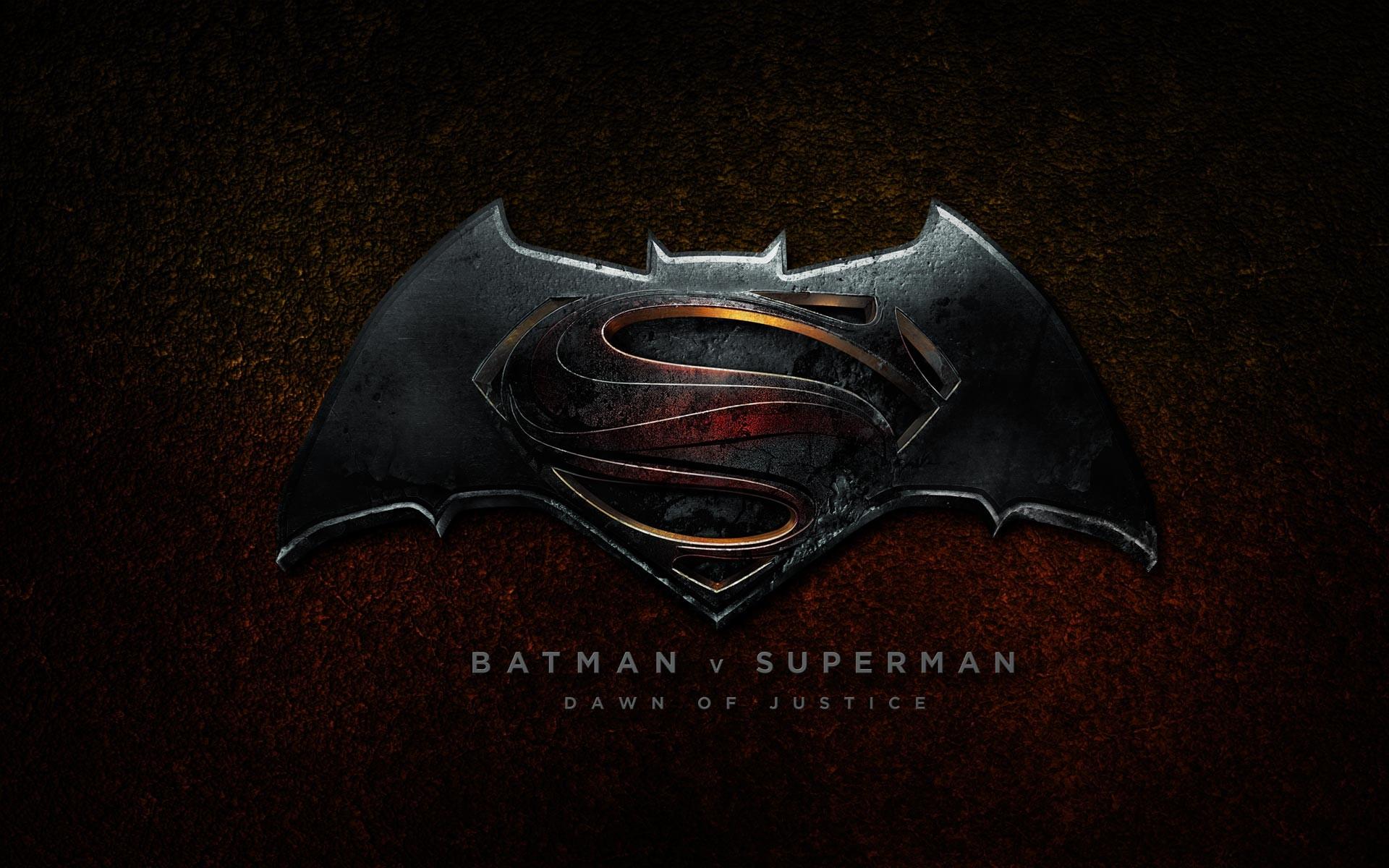 Batman vs Superman: Dawn of Justice 2016 Logo Wallpaper HD
