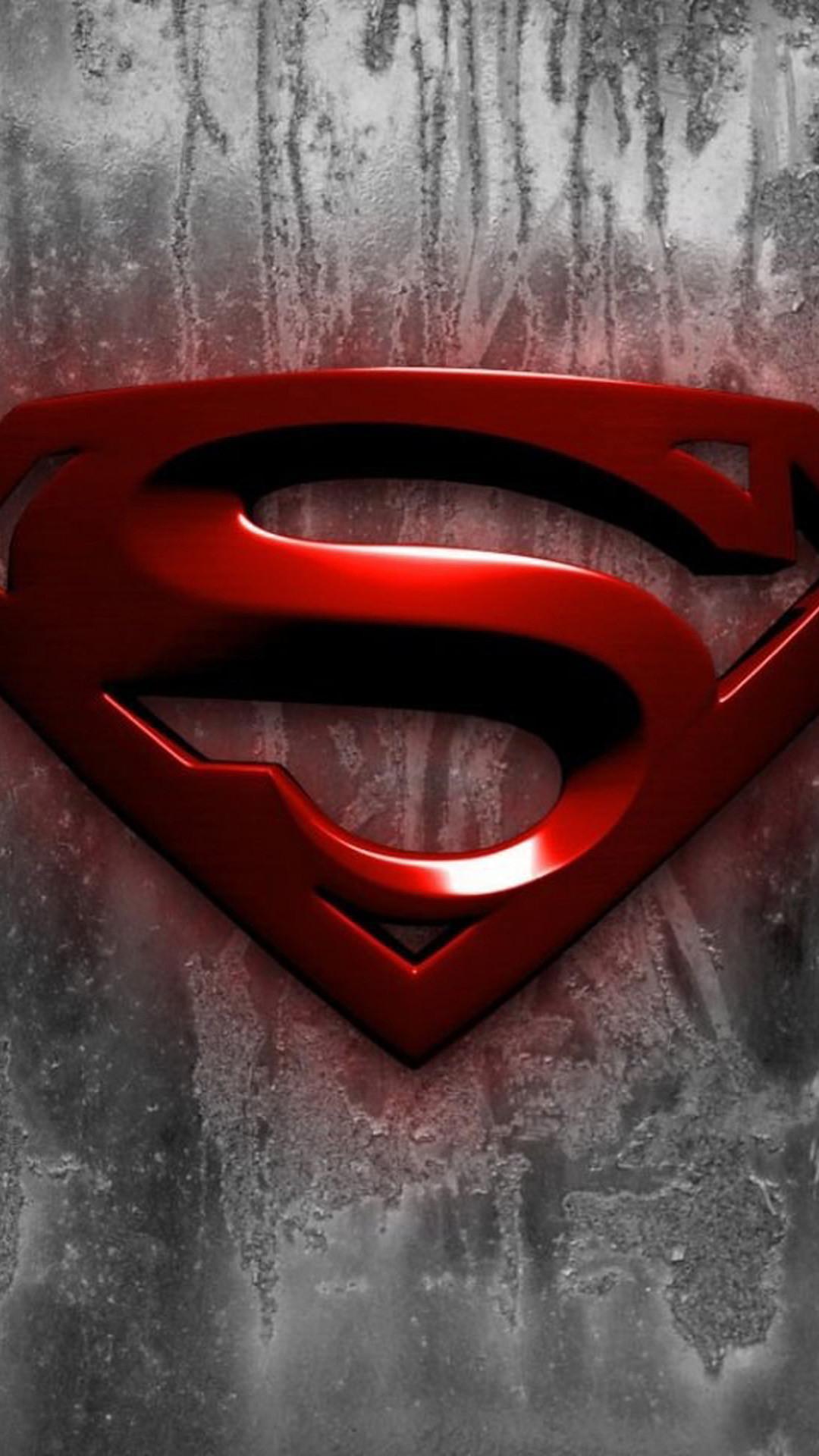 iPhone 6 plus Superman Logo HD Wallpaper