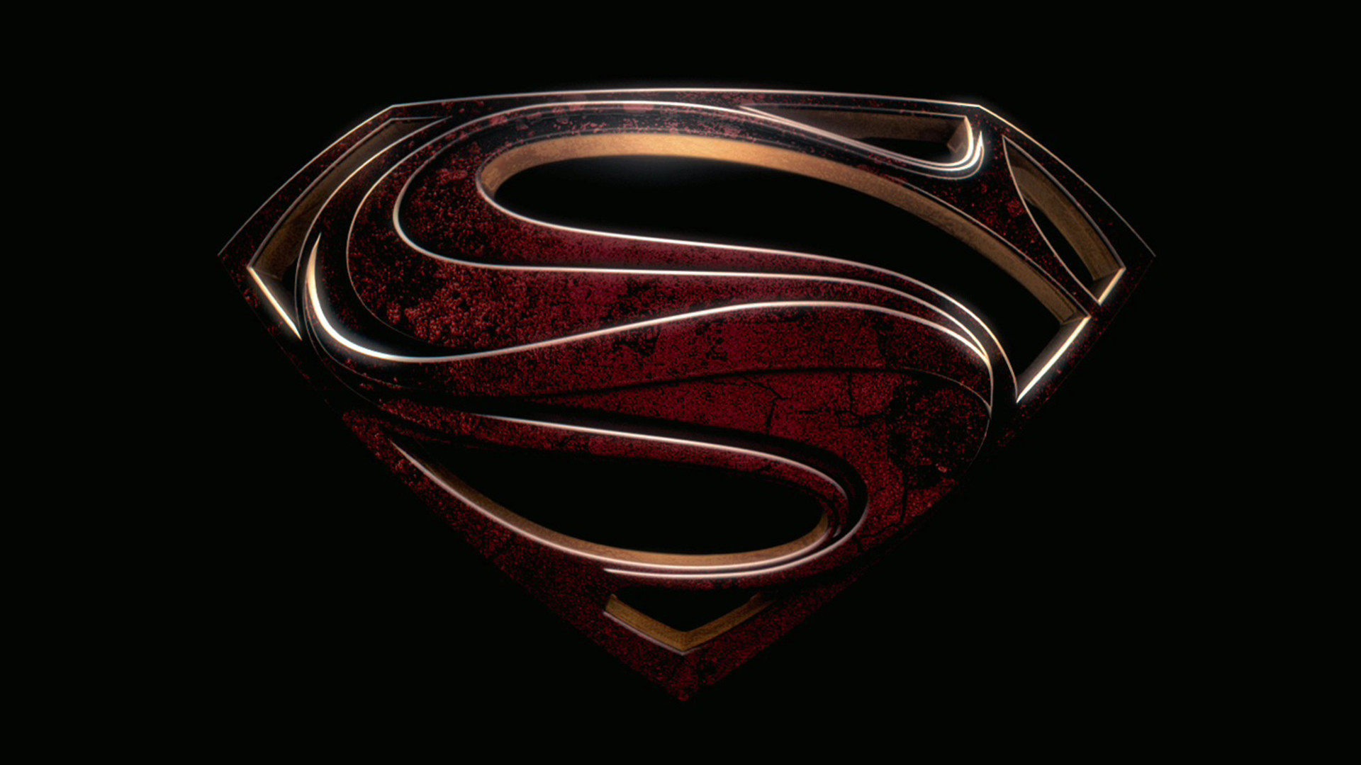 Superman Logo Man Of Steel Wallpaper Free Desktop
