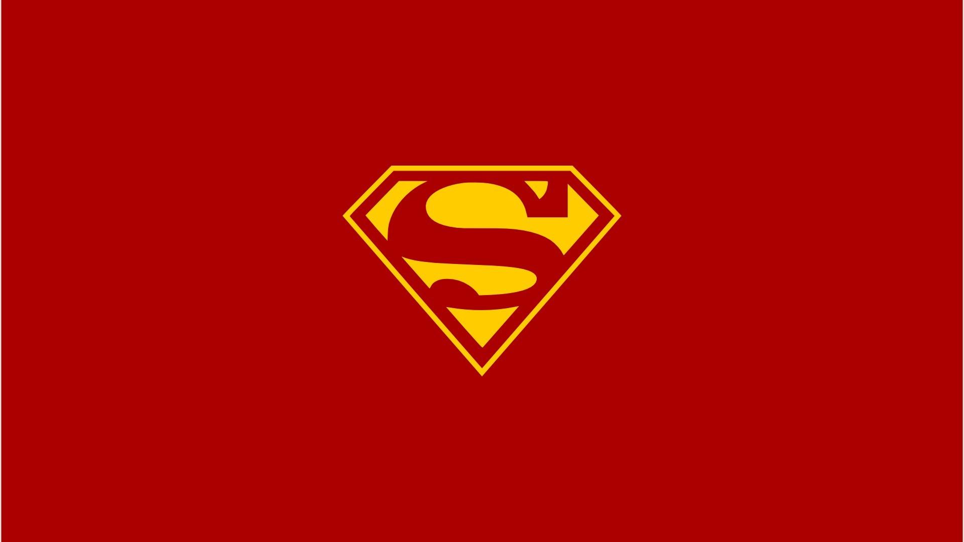 Red dc comics superman superheroes logo simple wallpaper – ClipArt .