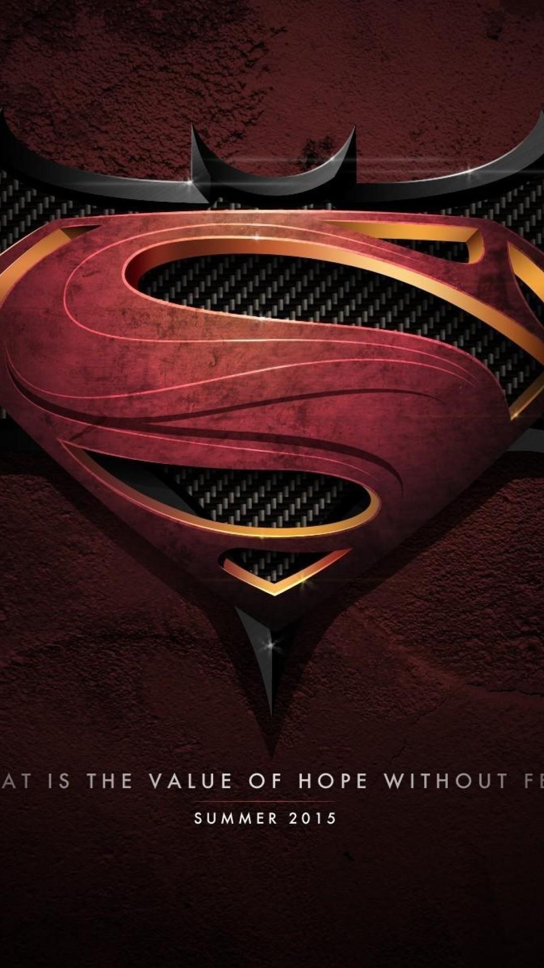 Batman and superman poster