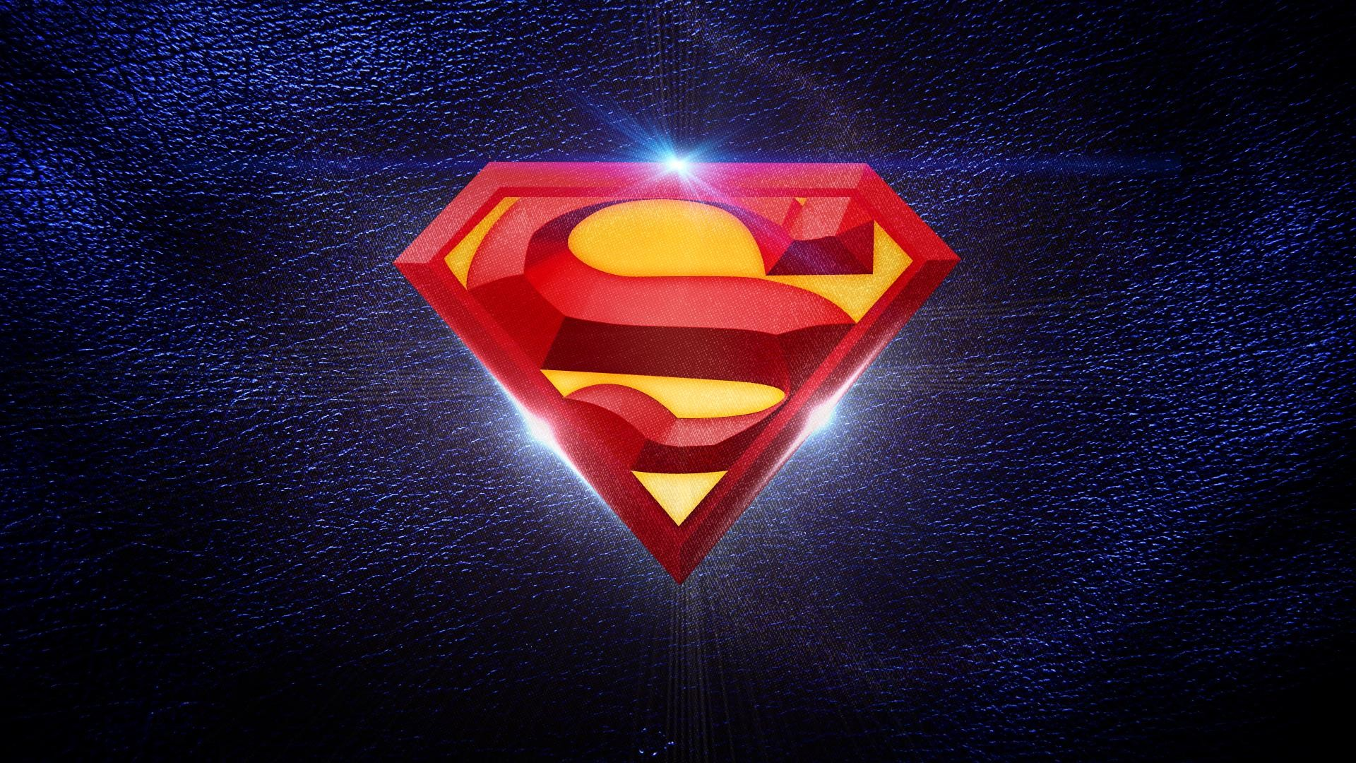 Superman logo wallpaper – (#153234) – High Quality and Resolution .