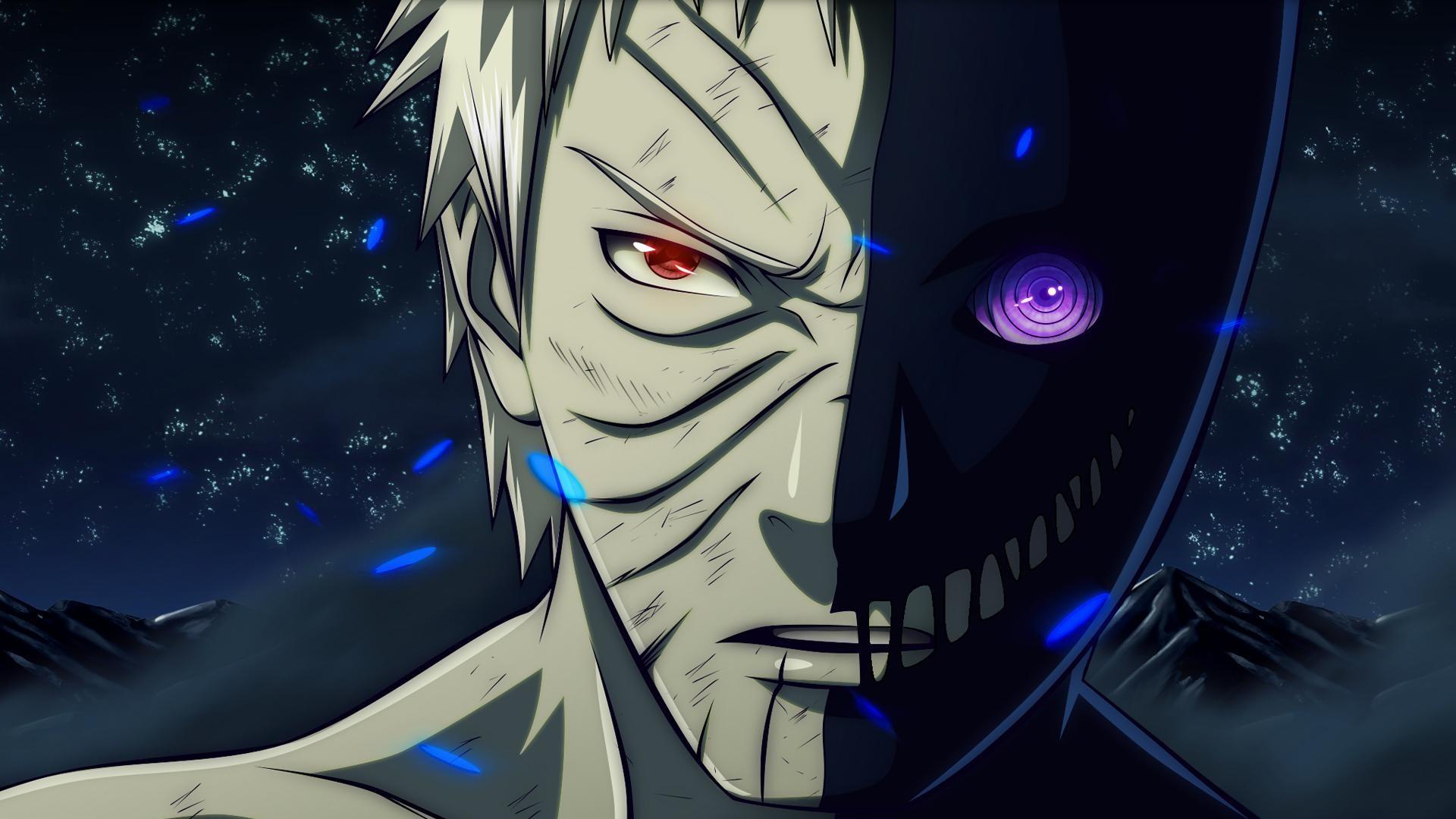 Obito-Uchiha-with-his-sharingan-rinnegan-eyes-wallpaper-