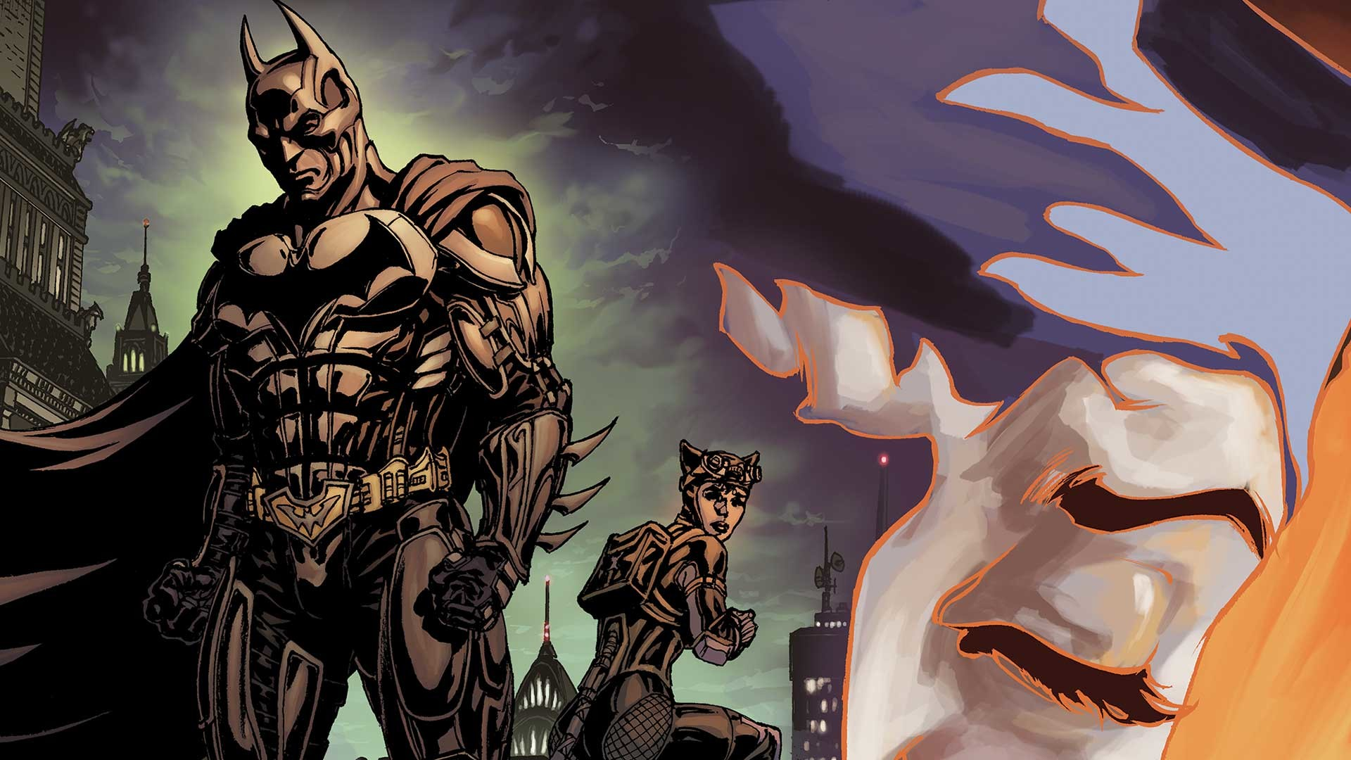 Comics – Batman Catwoman Wallpaper