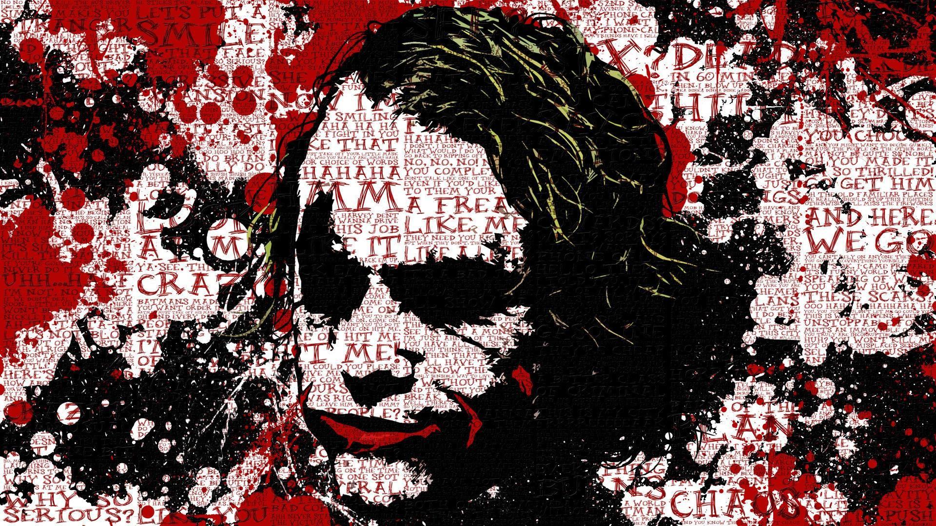 Joker Quotes – The Joker Wallpaper (22808739) – Fanpop