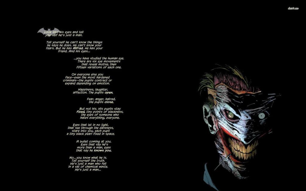 Joker – Batman wallpaper – Quote wallpapers – #23798